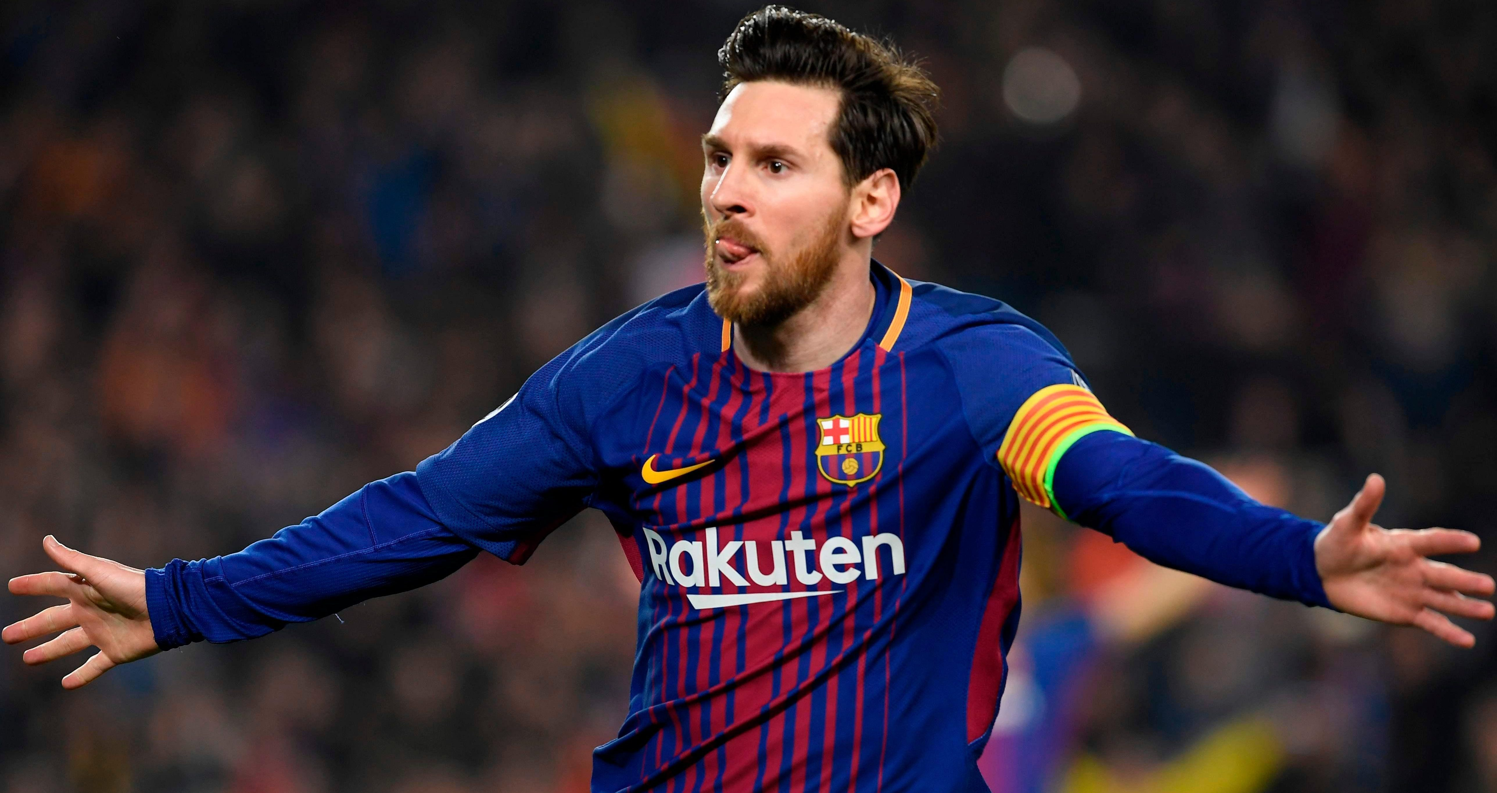 Lionel Messi has scored17 goals in 17 Champions League appearances for Barcelona this season