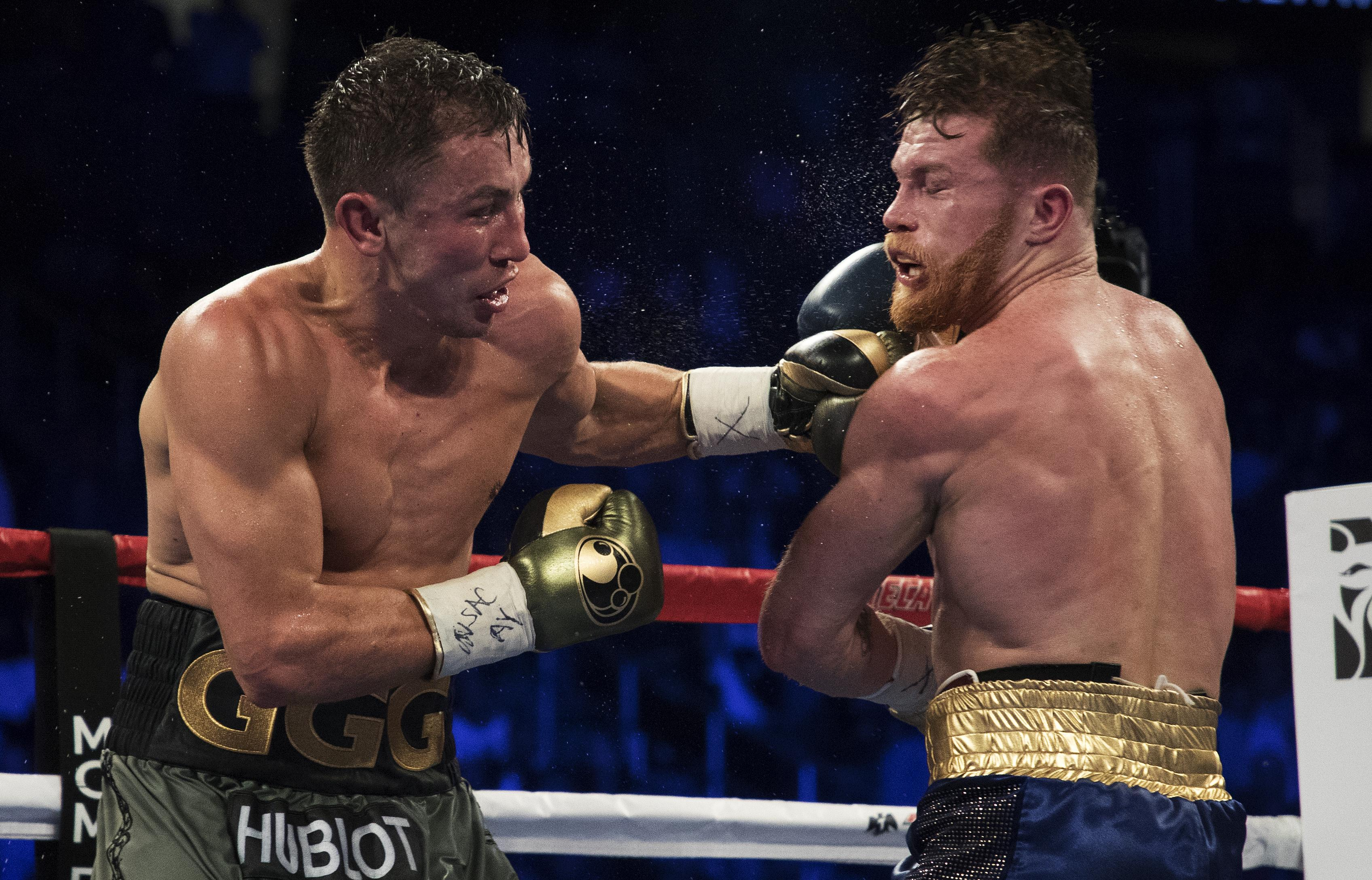 Both fighters claim they won the showdown and were due to settle the score in May