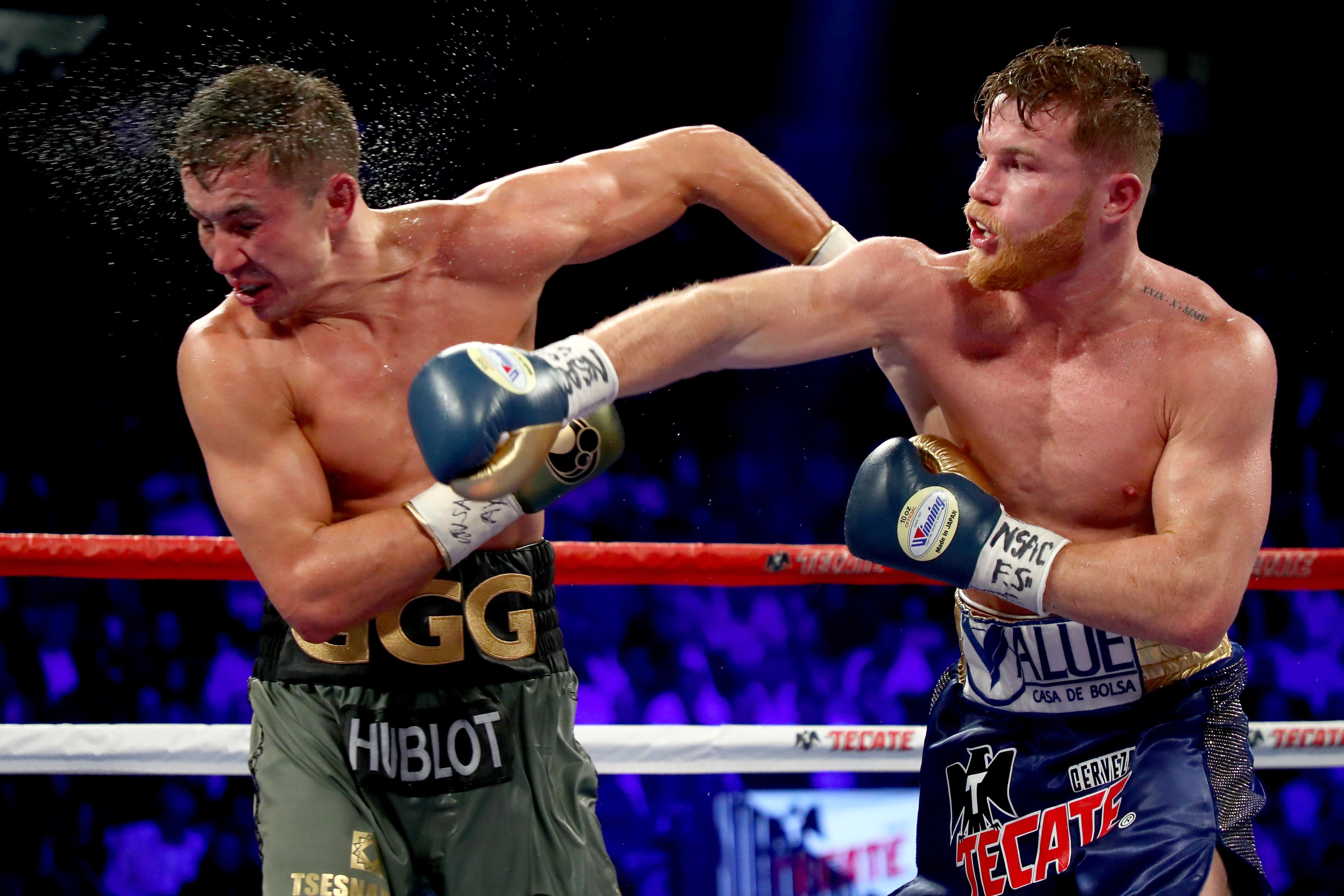 Saul Alvarez and Gennady Golvkin controversially drew their first fight