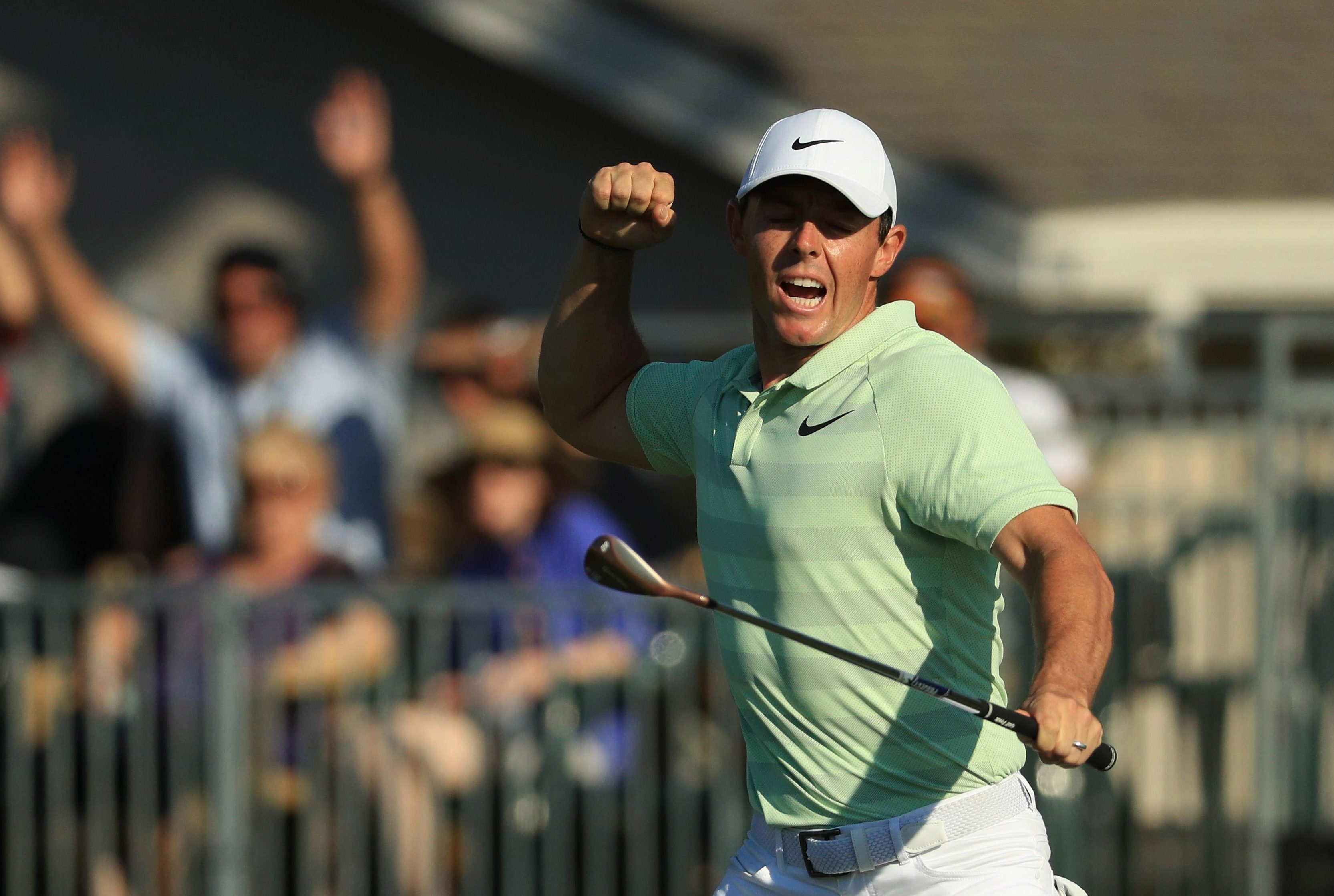 Rory McIlroy carded a final round of 64 to win the Arnold Palmer Invitational