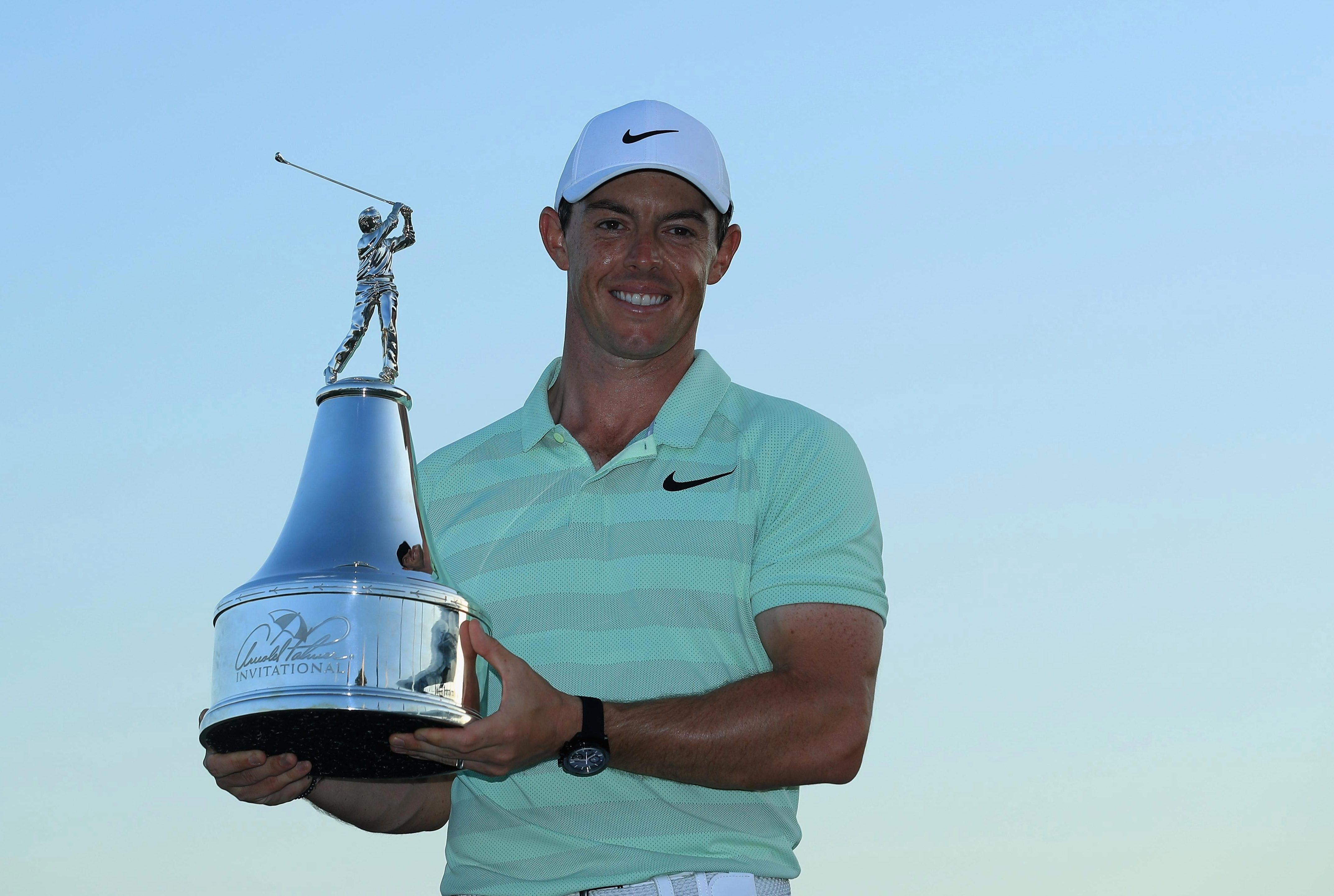 McIlroy putted four birdies in a row from the 13th hole en route to his success