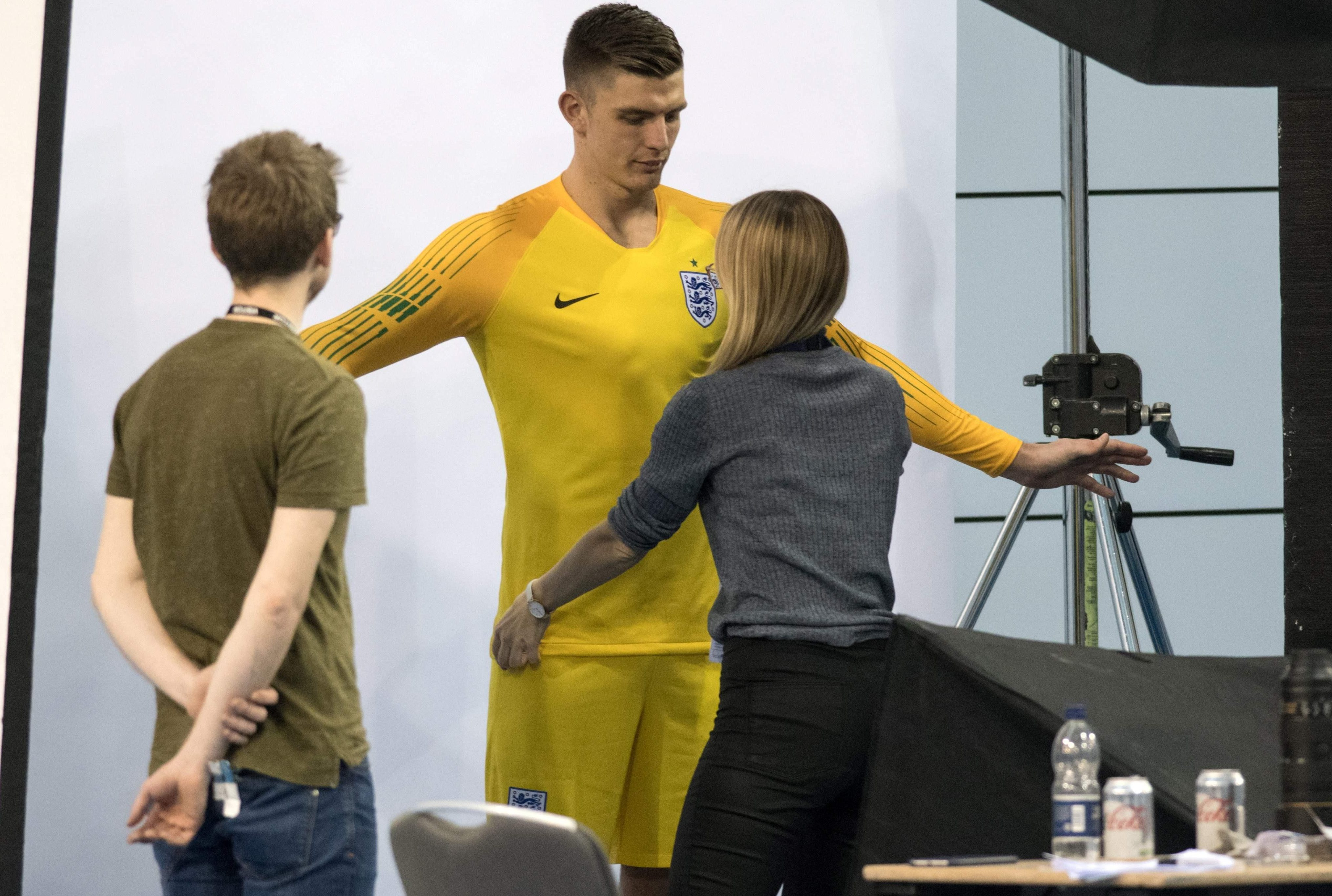 New boy Nick Pope hopes he will measure up at the highest level for England
