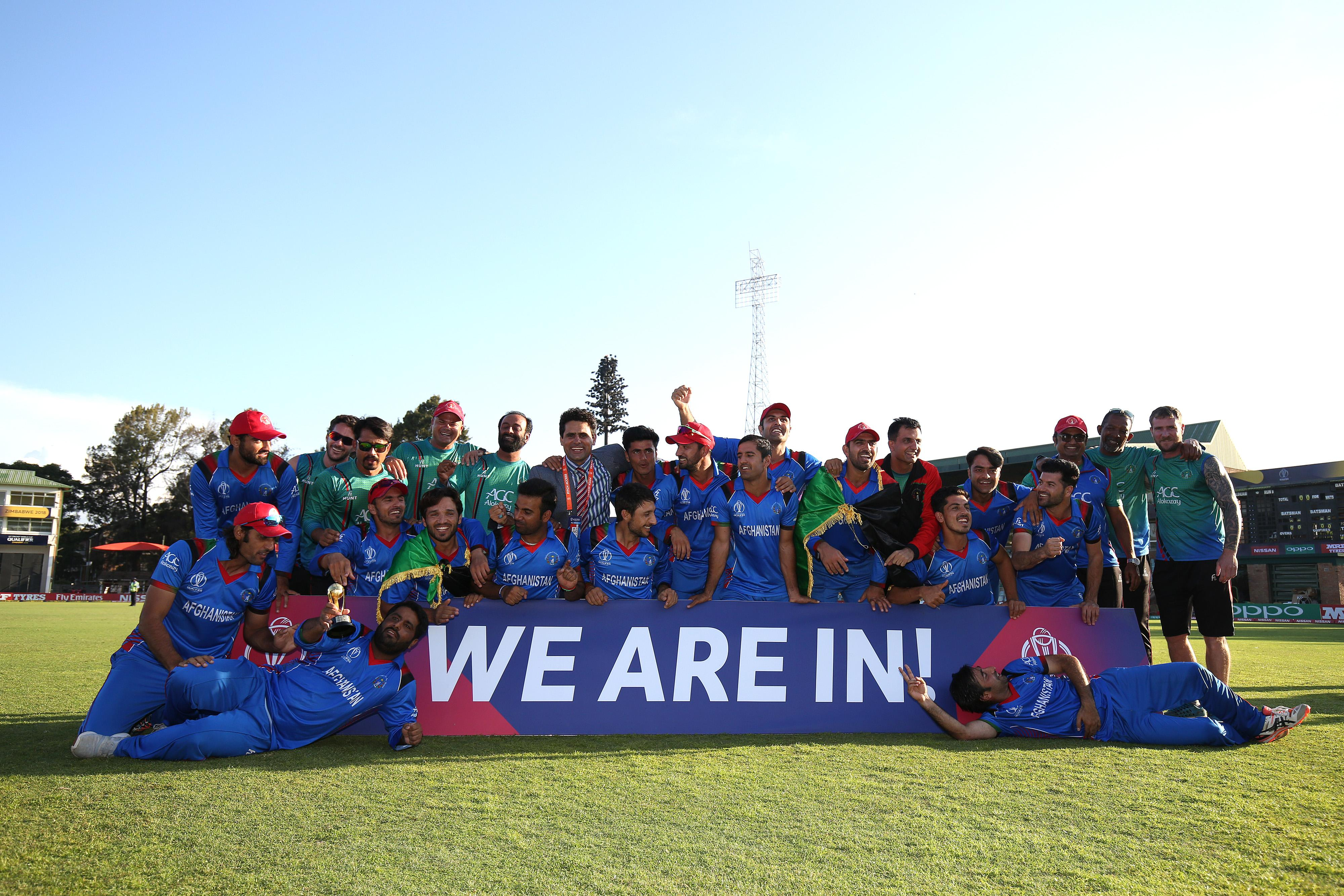 Afghanistan will travel to England and Wales for the 2019 World Cup