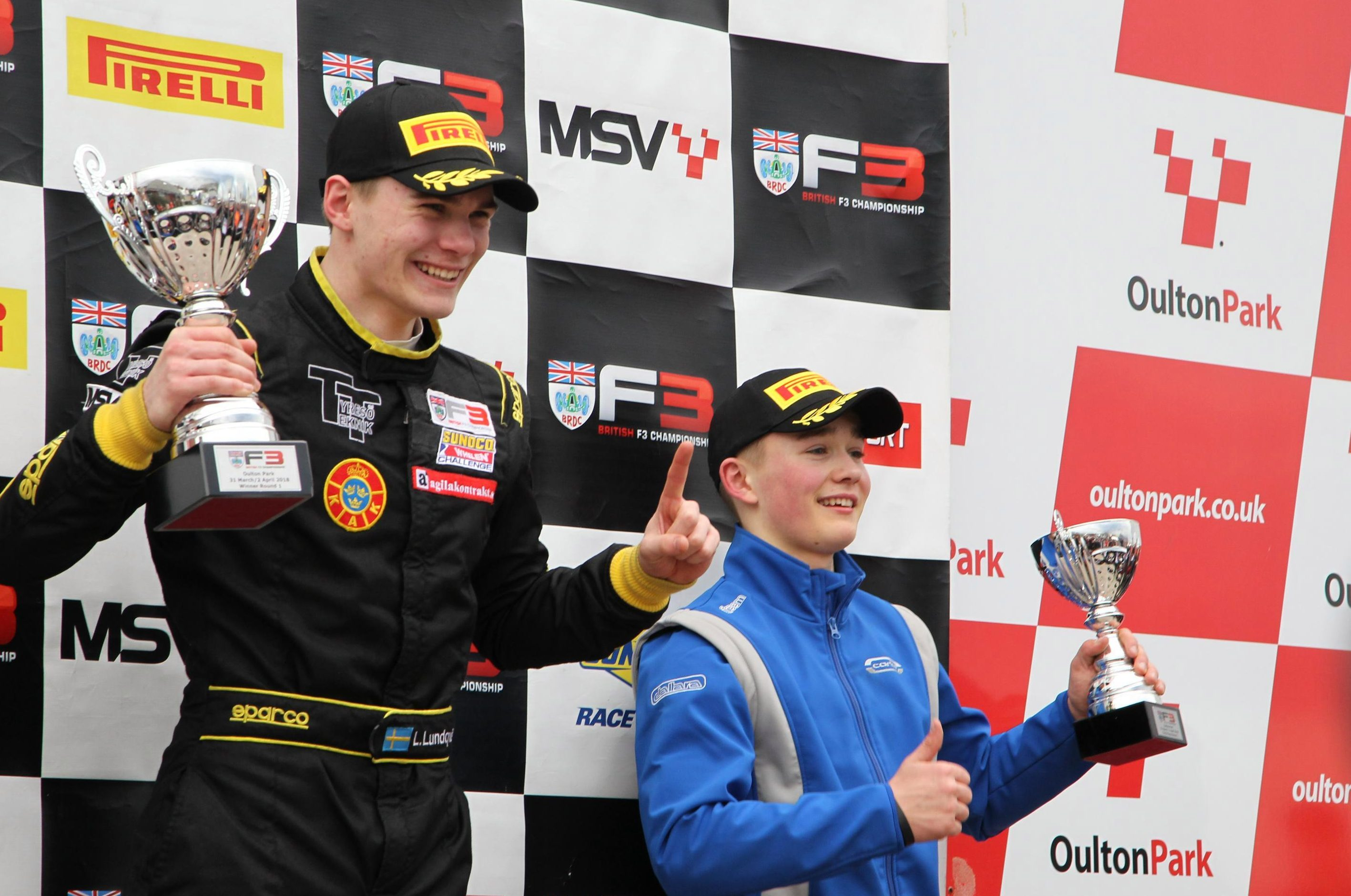 Finishing third at Oulton Park in his first outing for Carlin in Formula Three must be pleasing for Billy Monger