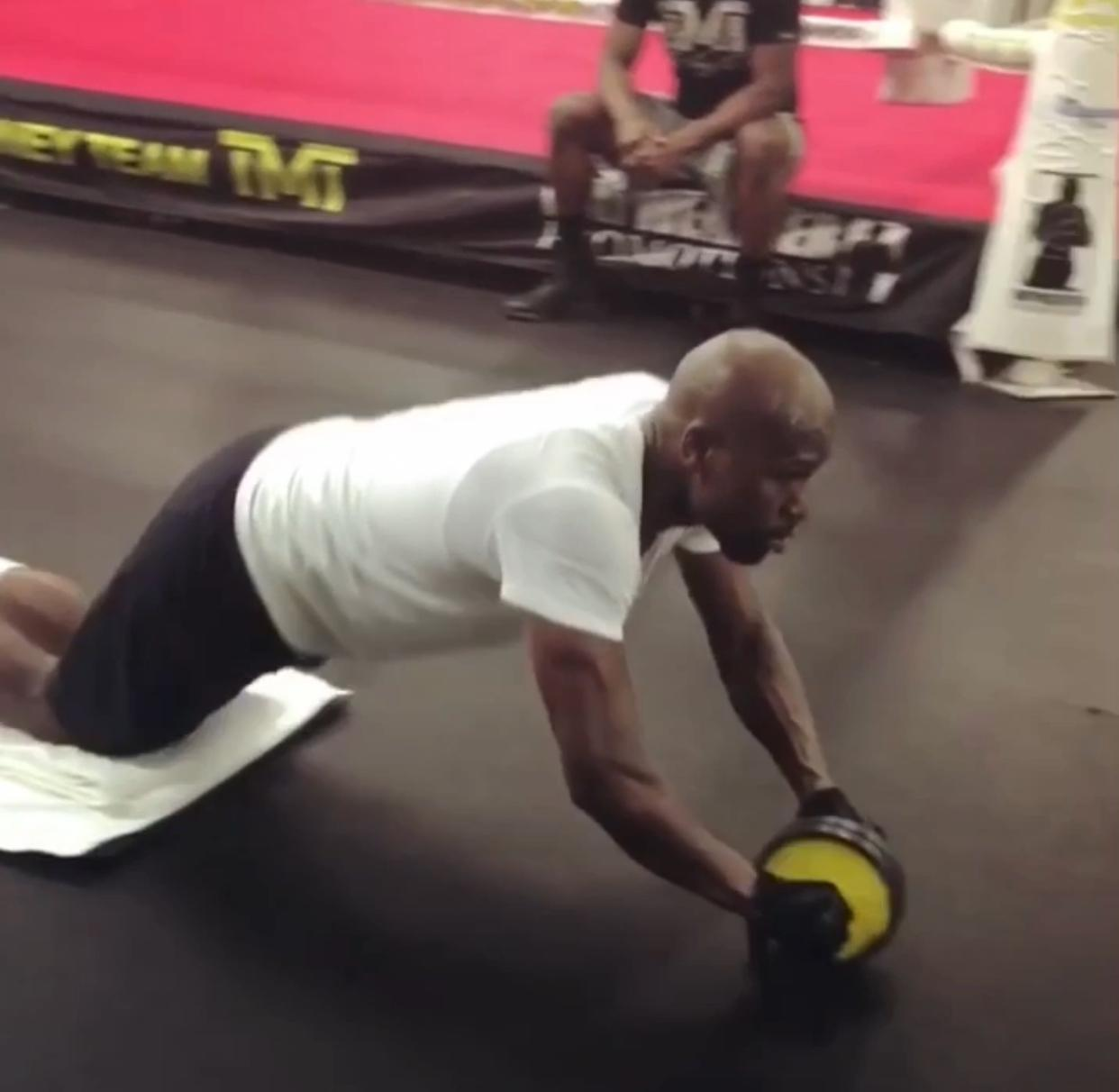 Floyd Mayweather is aiming to make his MMA bow this year, at featherweight