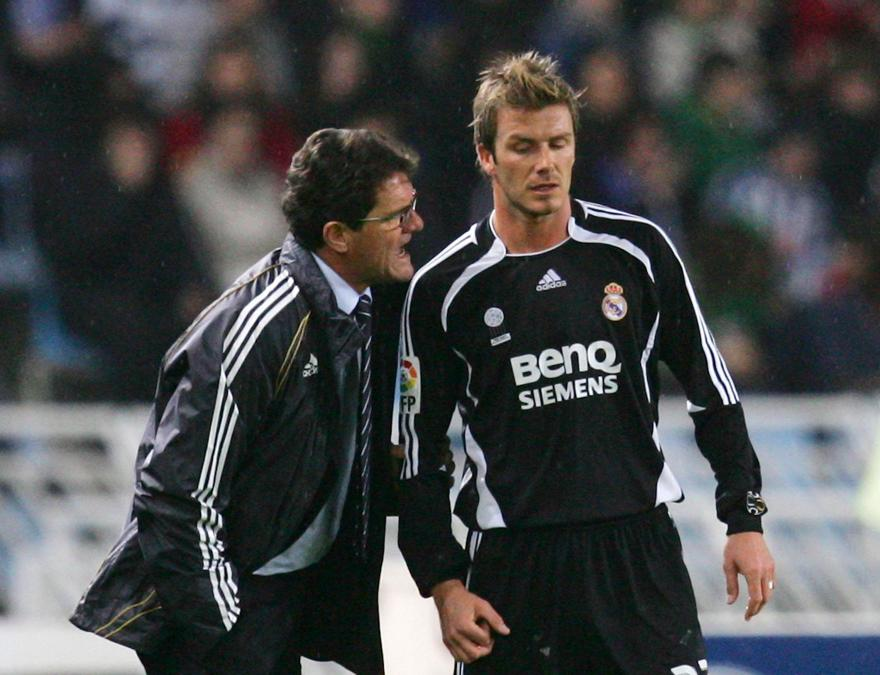 Capello enjoyed two successful single-season stints with Real Madrid