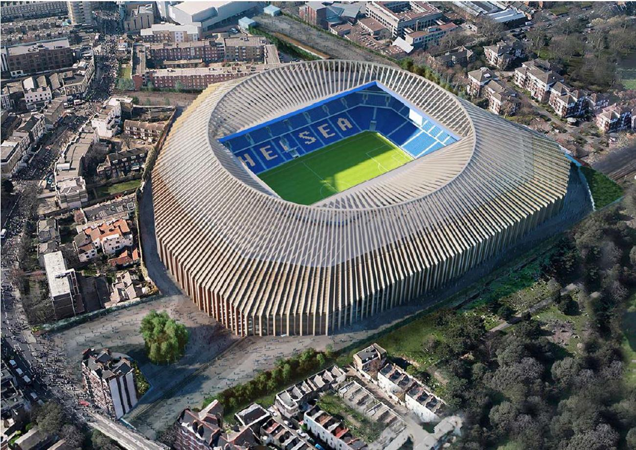 Roman Abramovich is set to help fund a new ground for his Chelsea side