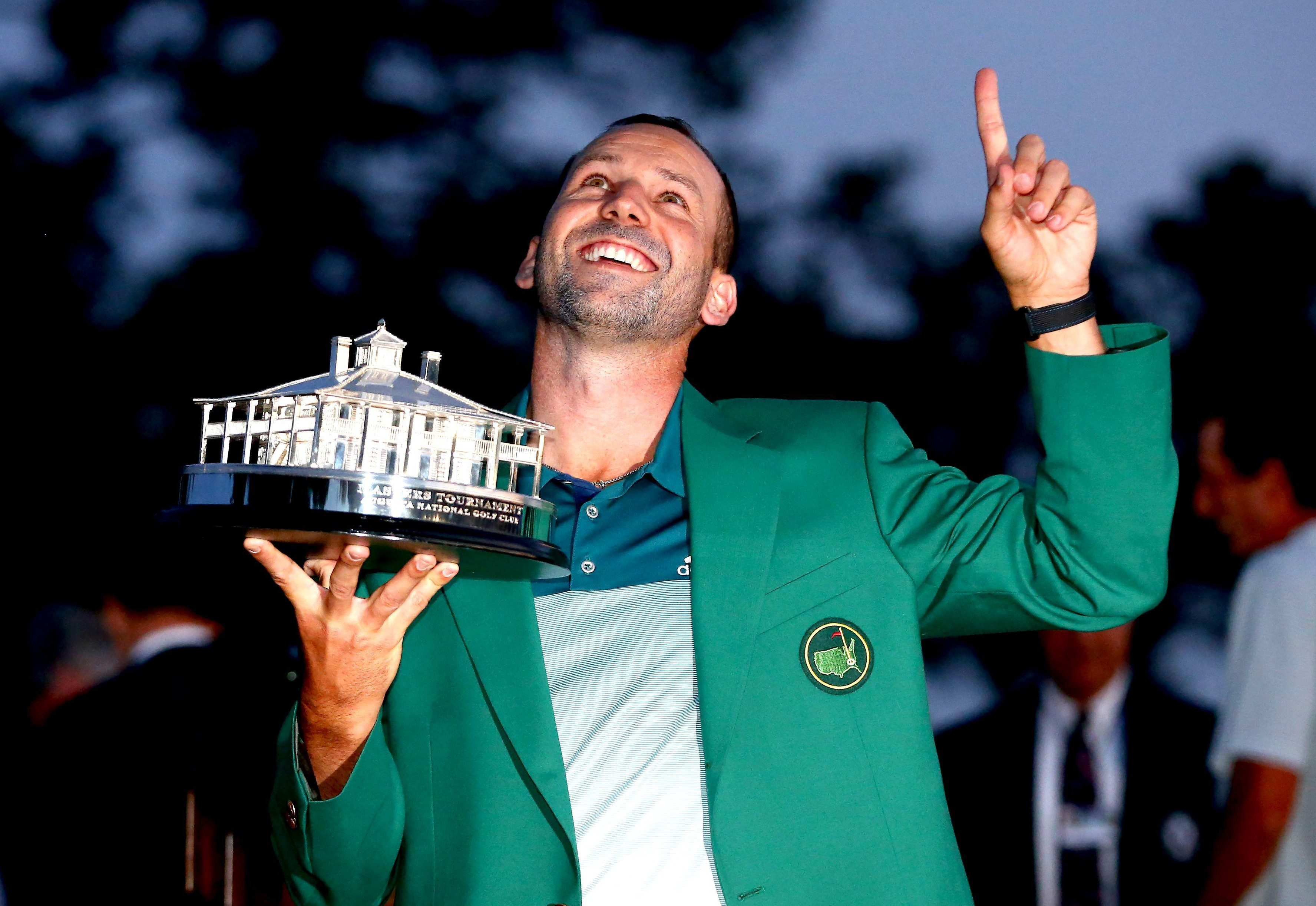 Sergio Garcia became a wealthy man when he won the 2017 Masters
