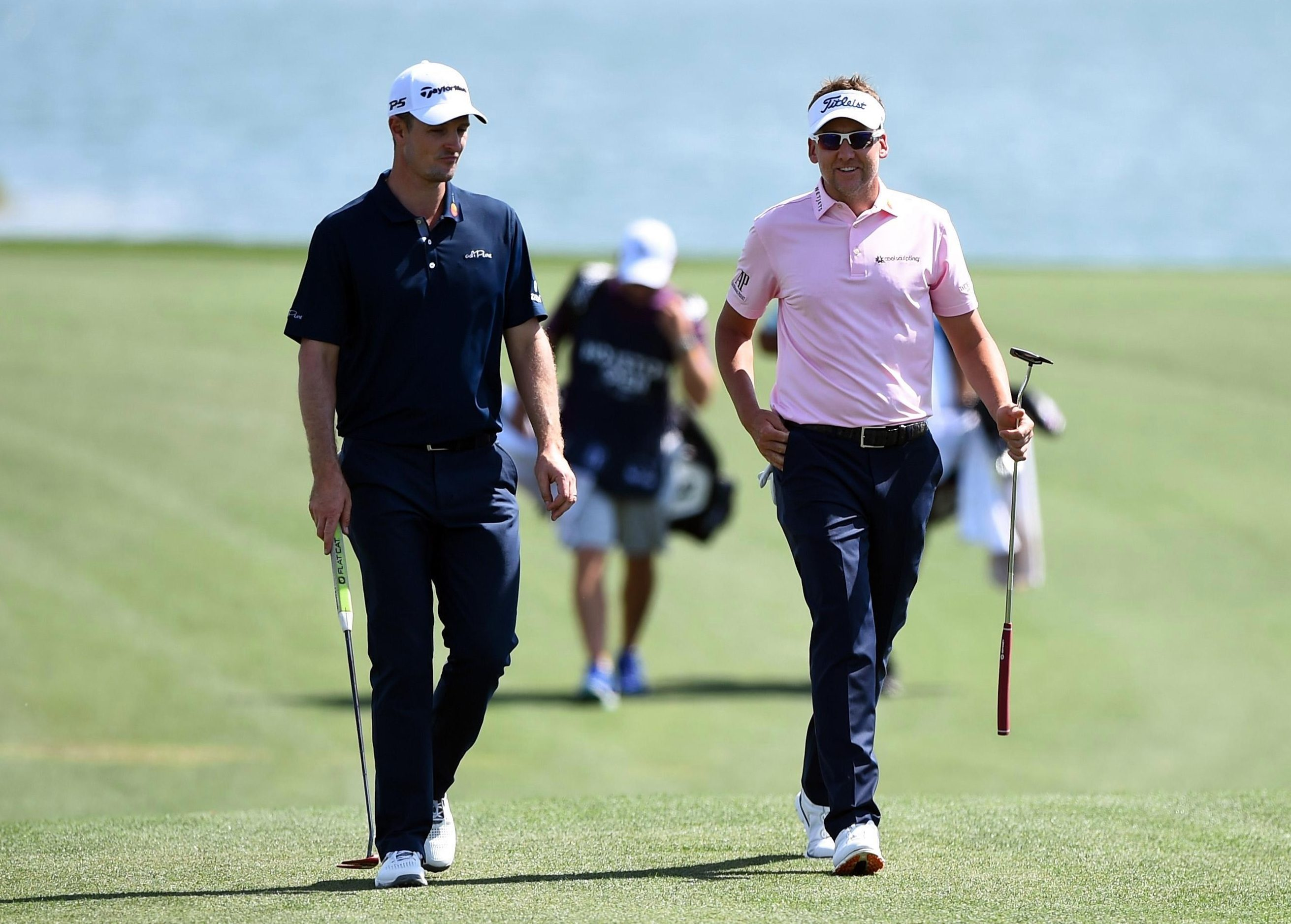 Justin Rose and Ian Poulter have played together i9n practice as they look for their first Masters title