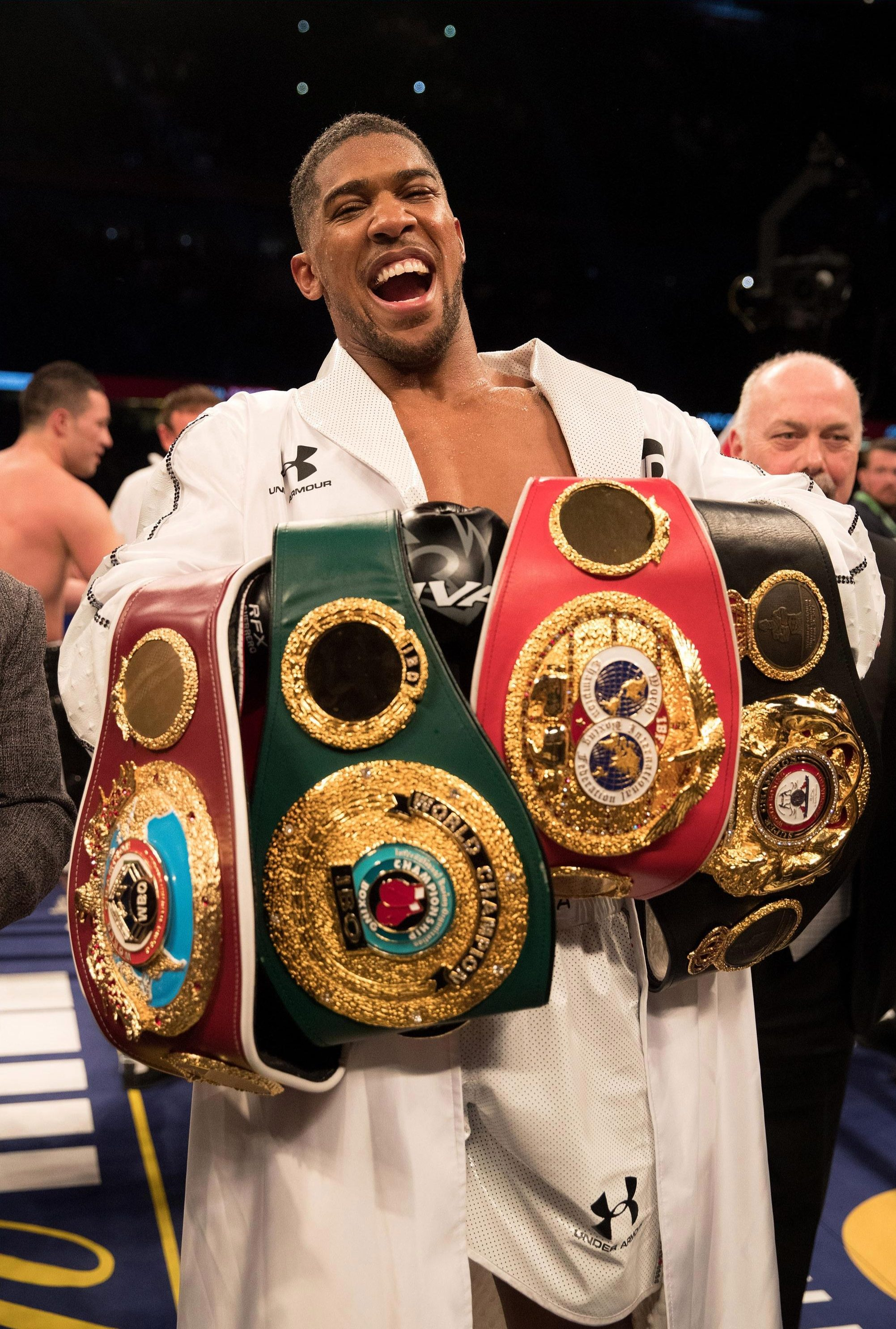 Anthony Joshua needs to beat Deontay Wilder to become the undisputed heavyweight champion of the world