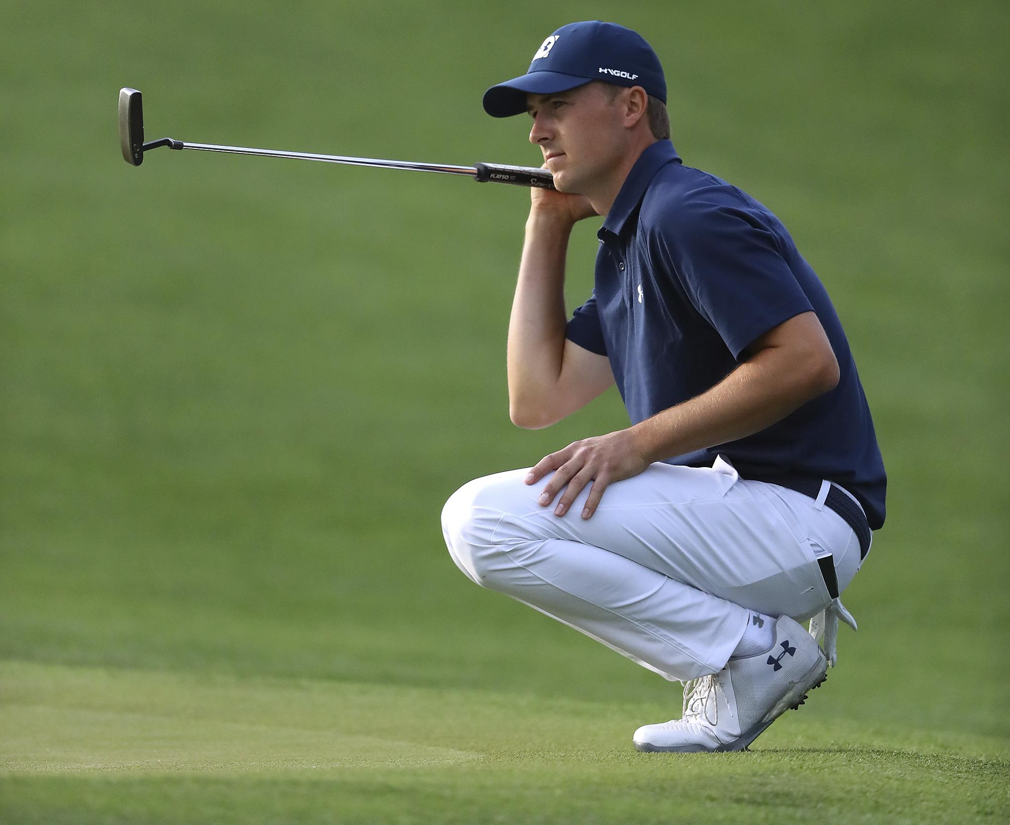 Jordan Spieth leads after the first round