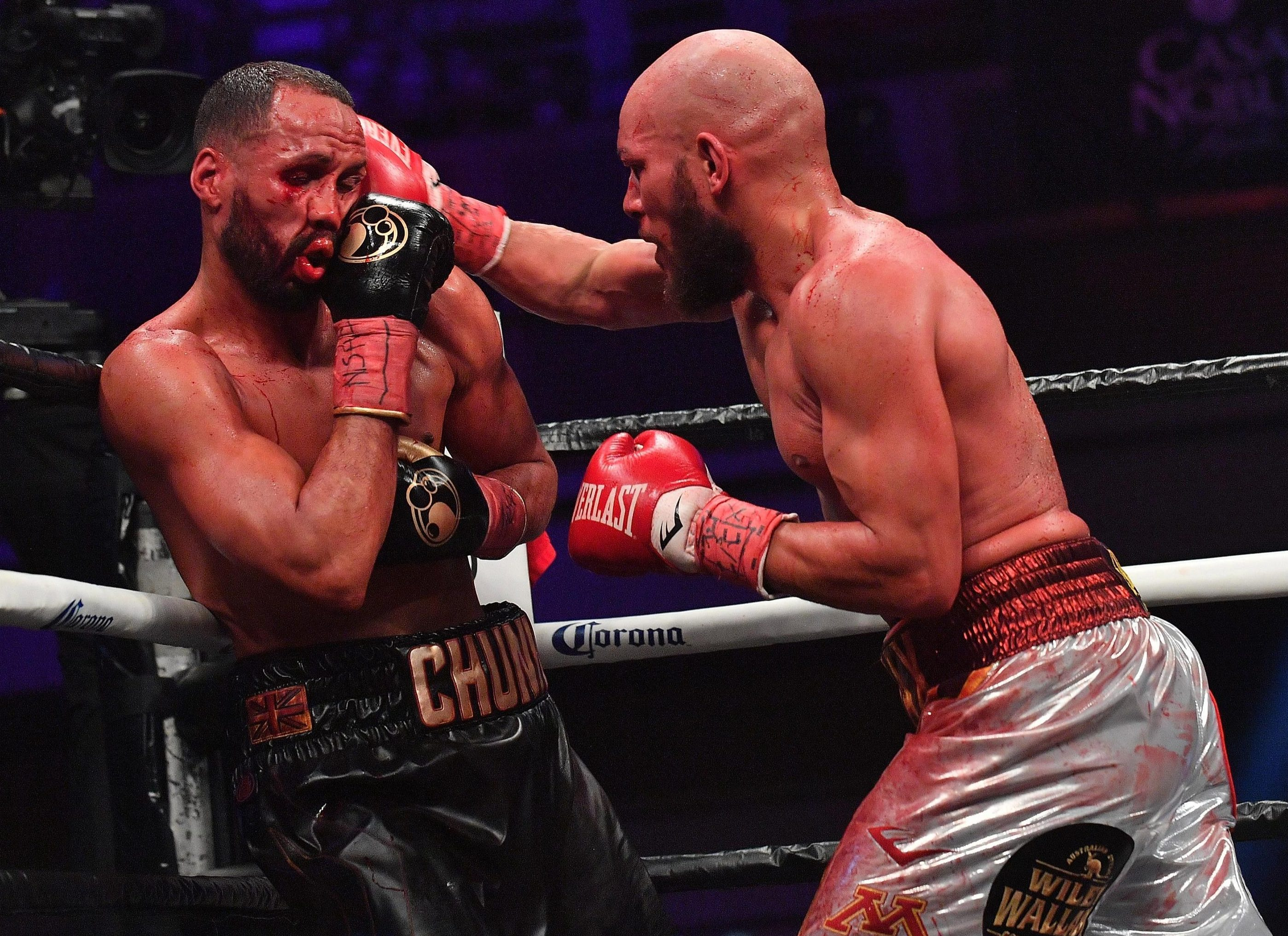 James DeGale won by unanimous decision to reclaim his title from Truax