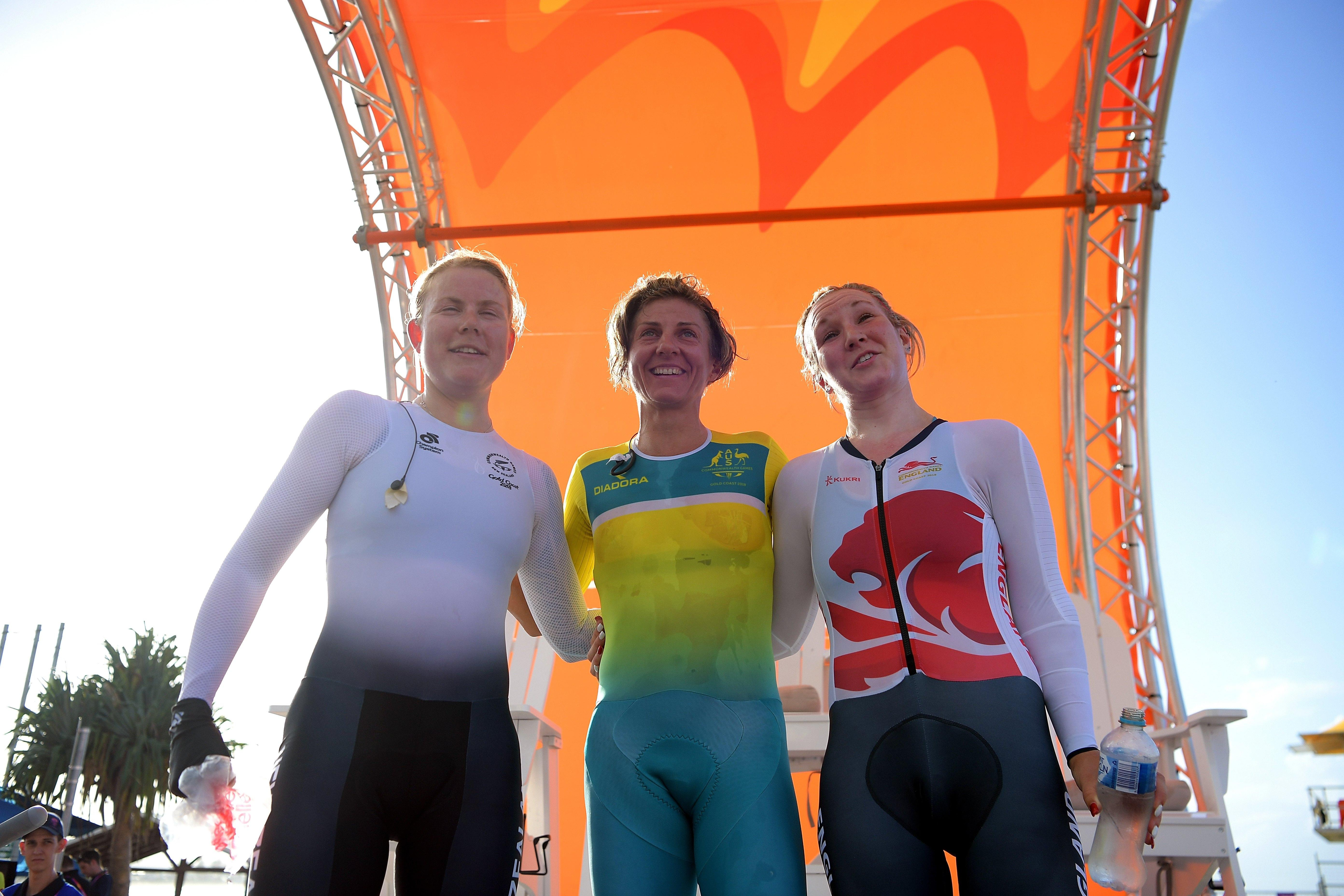 Australia, New Zealand and England made it a 1-2-3 on the podium on the Gold Coast