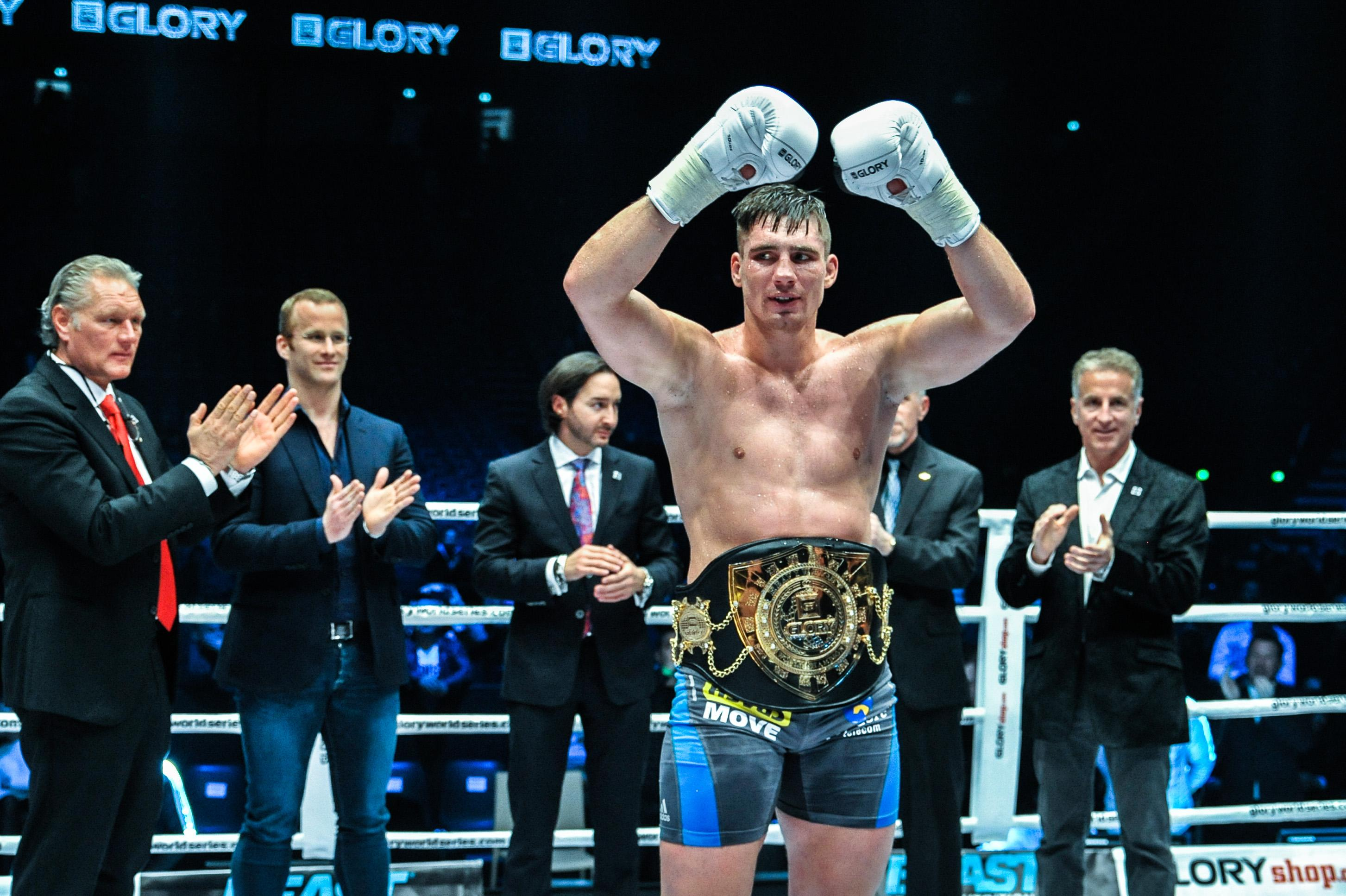 Dutch master Rico Verhoeven is the Glory heavyweight world champion