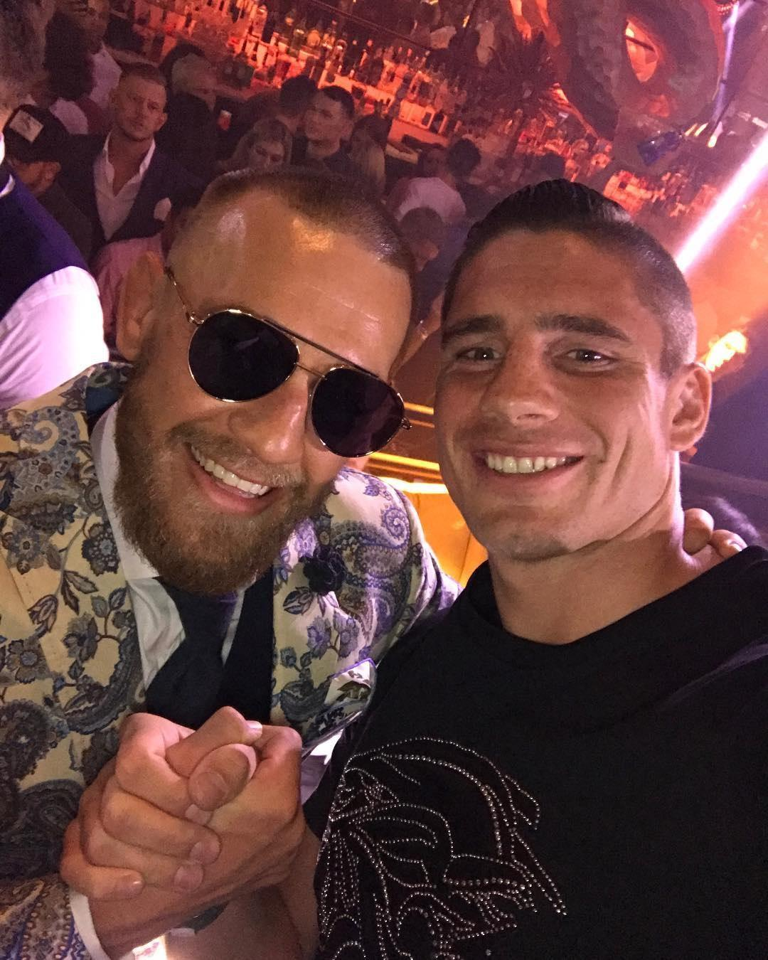 Conor McGregor is a Rico Verhoeven fan