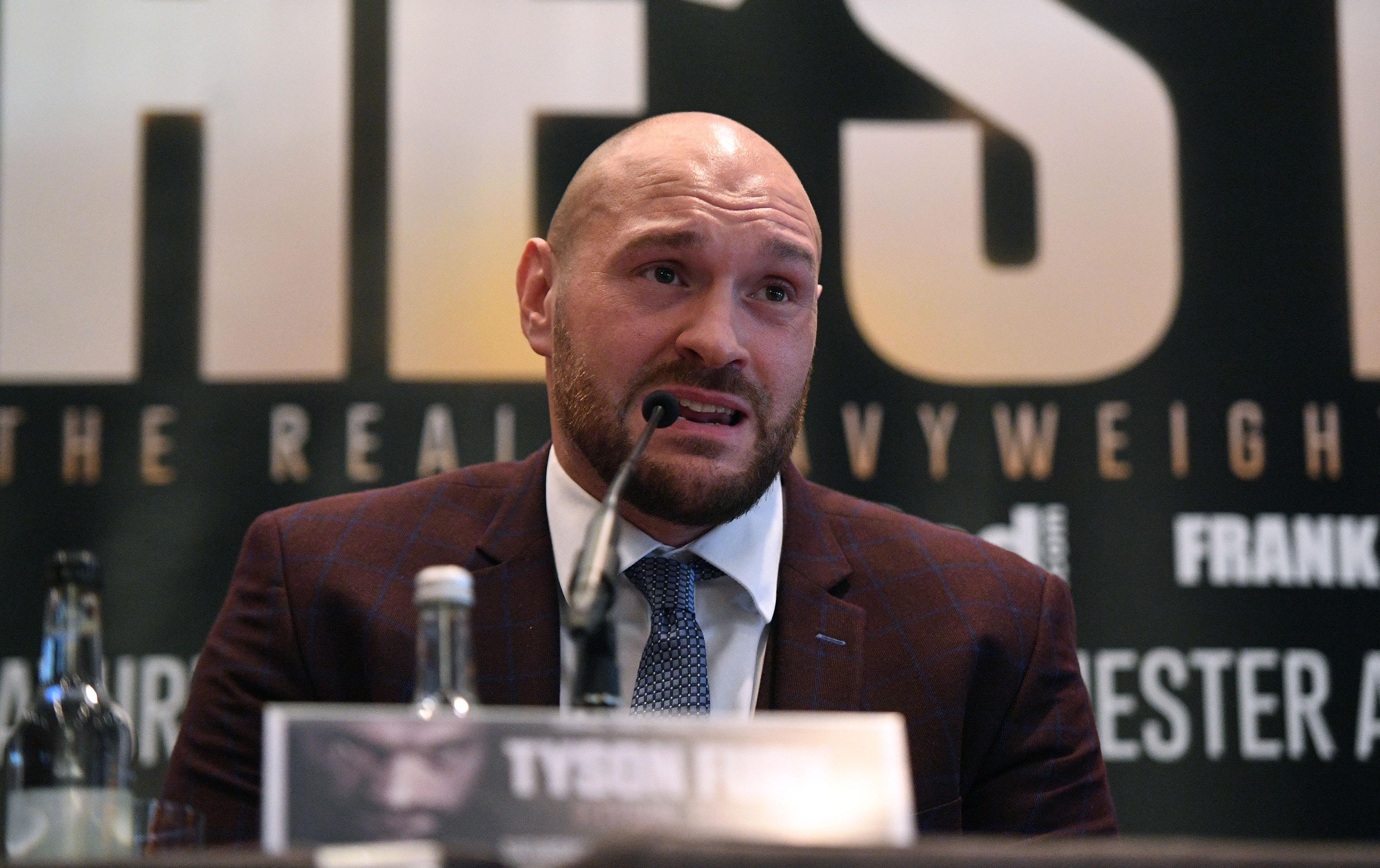 Tyson Fury is like a 'fart in the wind' according to Wladimir Klitschko