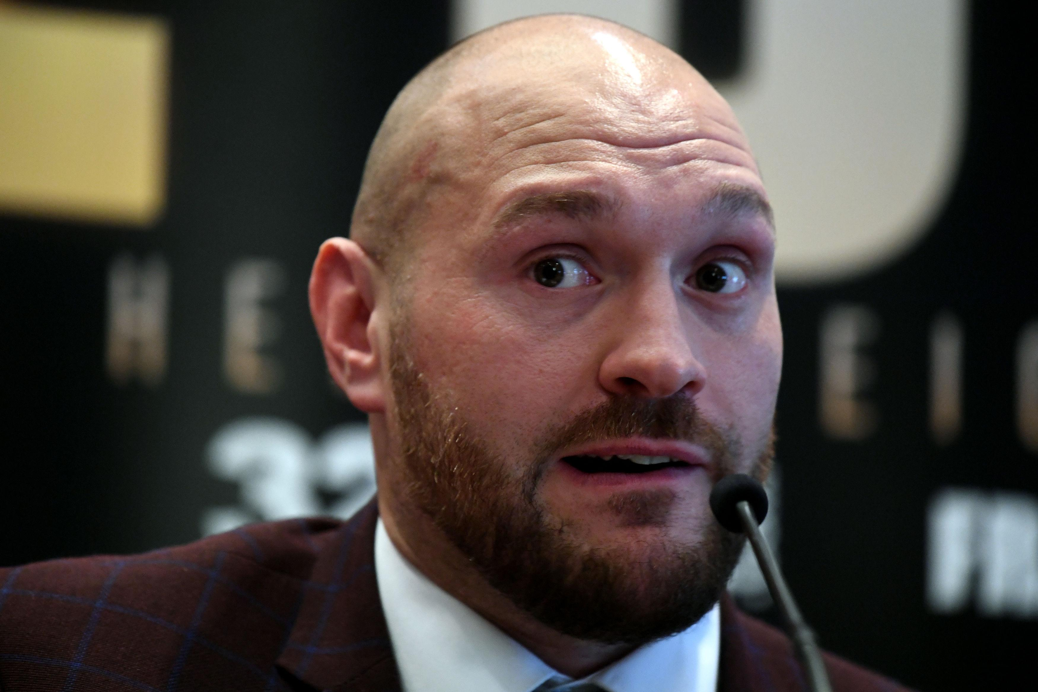 Tyson Fury is making his comeback on June 9