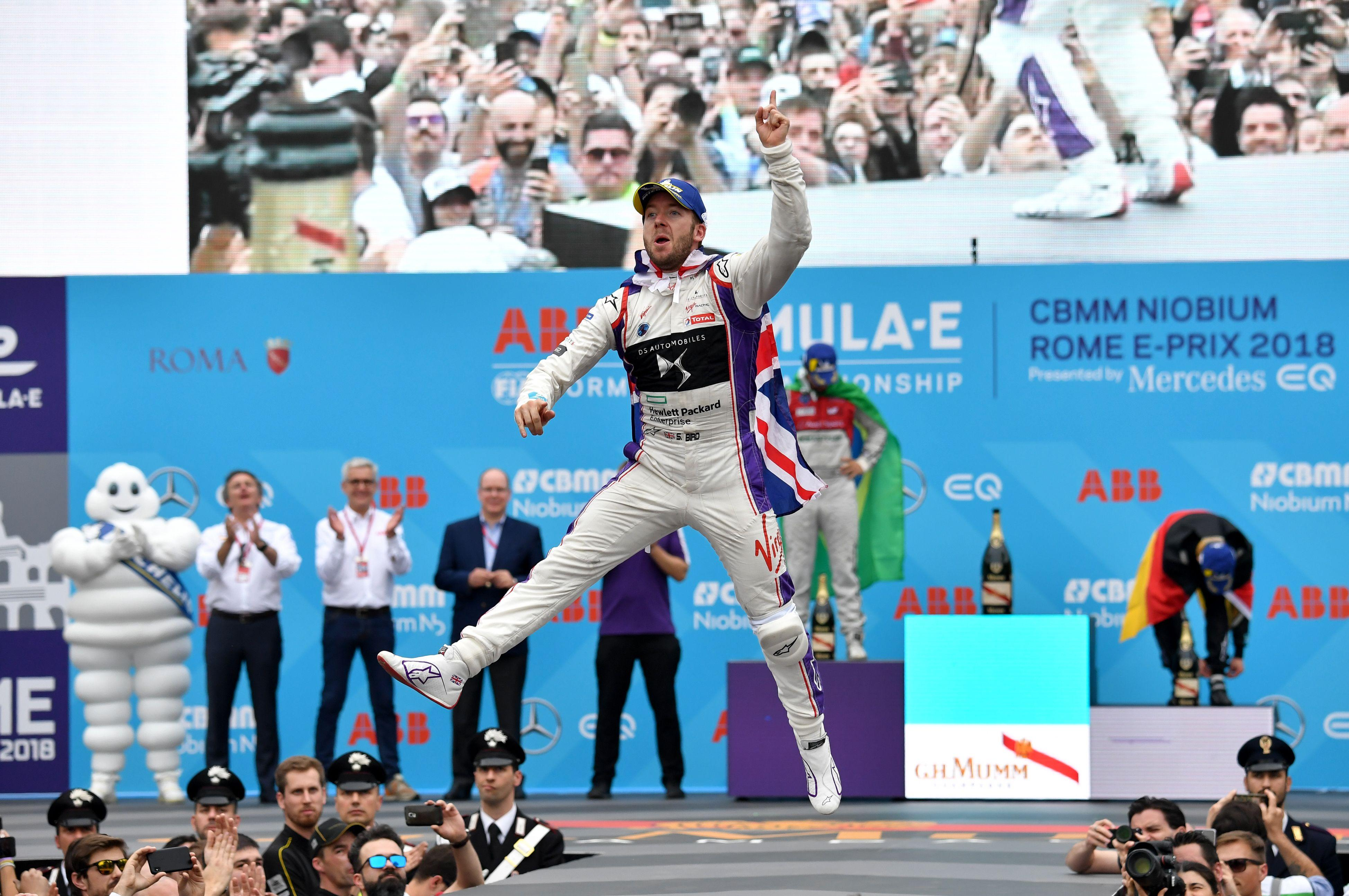 British driver Sam Bird took victory at the last race in Rome two weeks ago