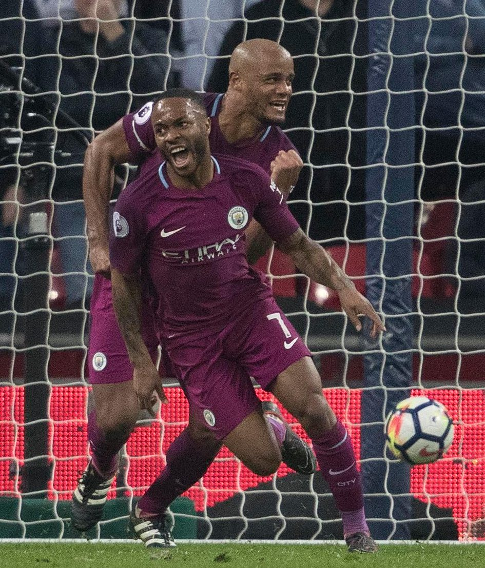Raheem Sterling was on the scoresheet as City put their recent woes behind them