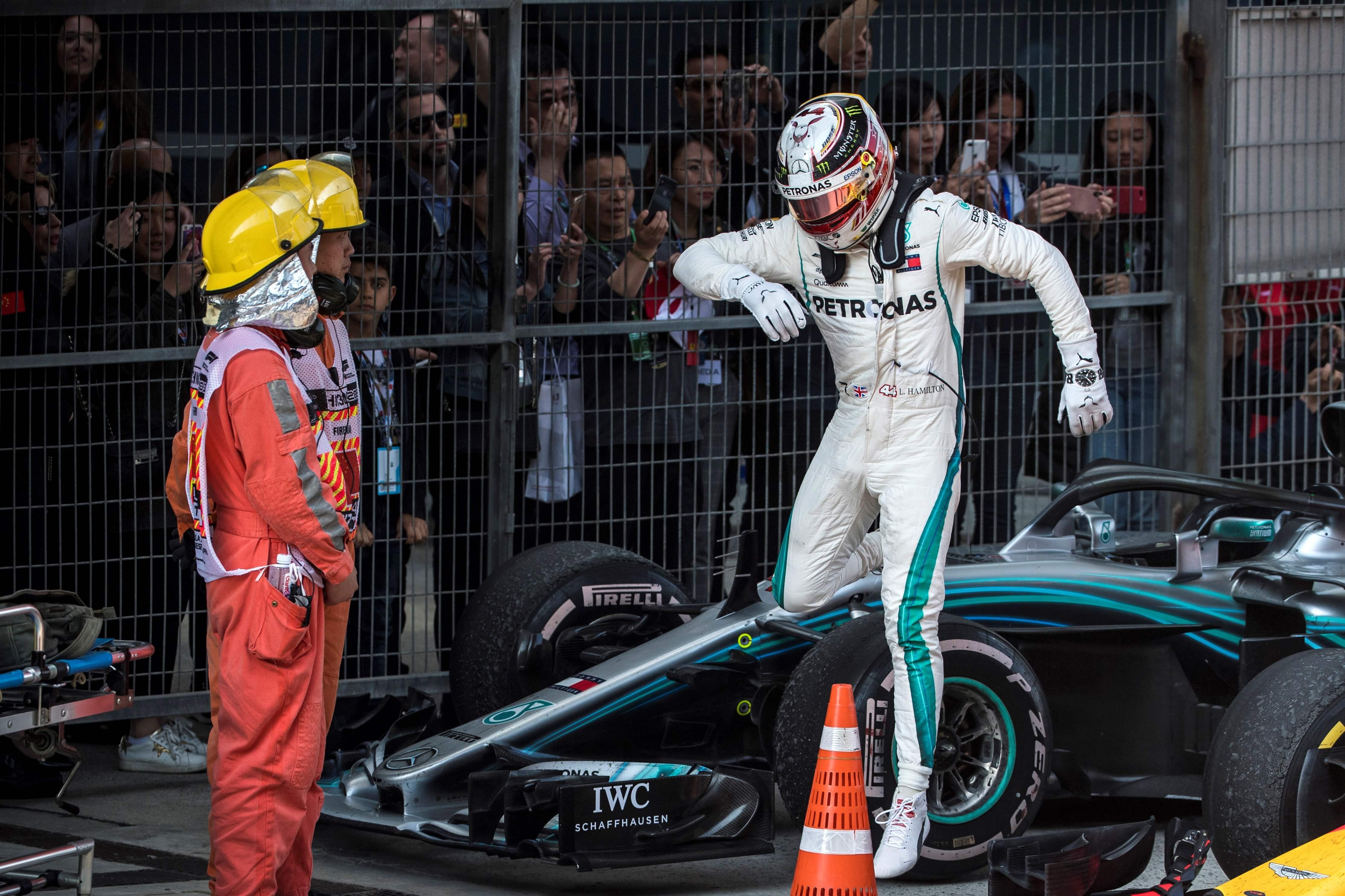Lewis Hamilton has now endured back-to-back F1 shockers