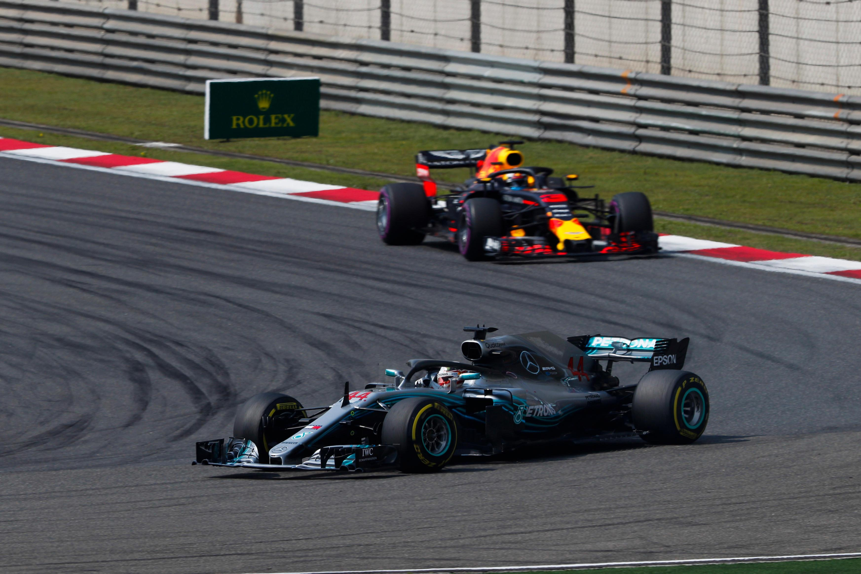 Mercedes still still top of the constructors' standings despite failing to win a race
