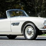 A 1950s Bmw 507 Roadster Owned By Prince William S Godfather To Sell For A World Record 2 2million