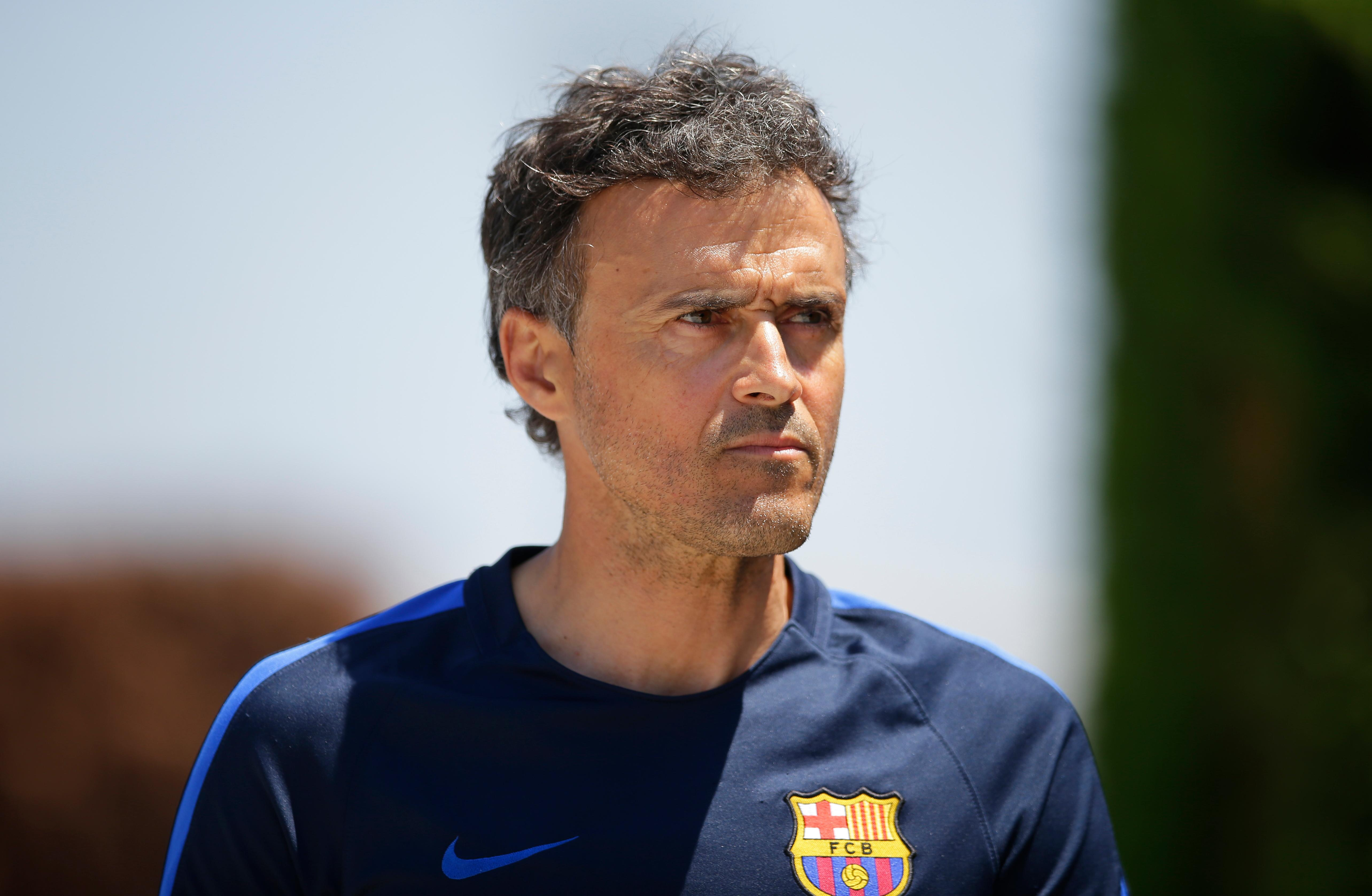 Arsenal have made contact with Luis Enrique about succeeding Arsene Wenger