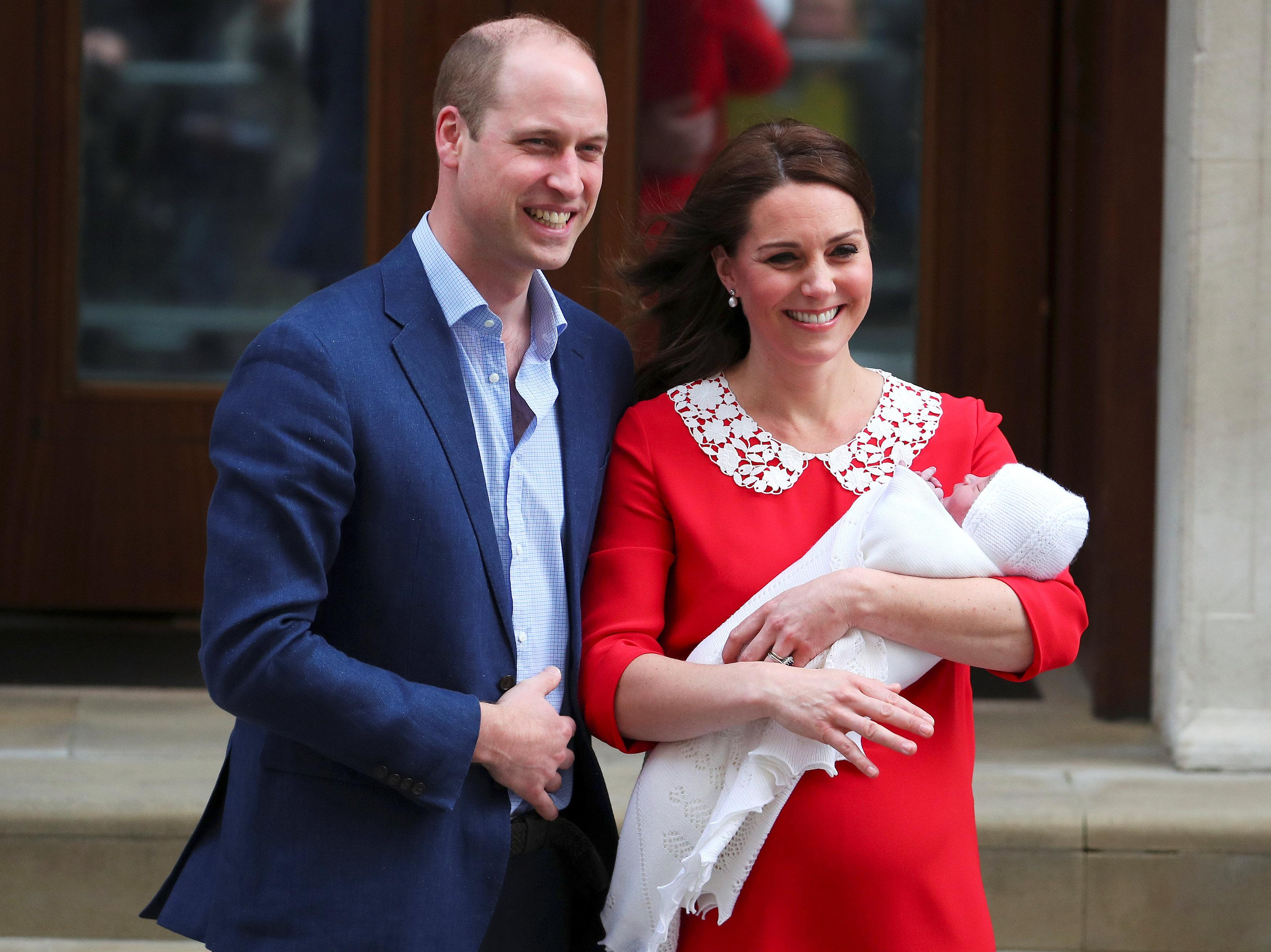 Who will be born with Kate Prince or princess 33