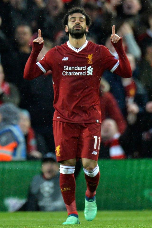 Mo Salah was in incredible form as he scored two and made two for Liverpool in their Champions League win over Roma