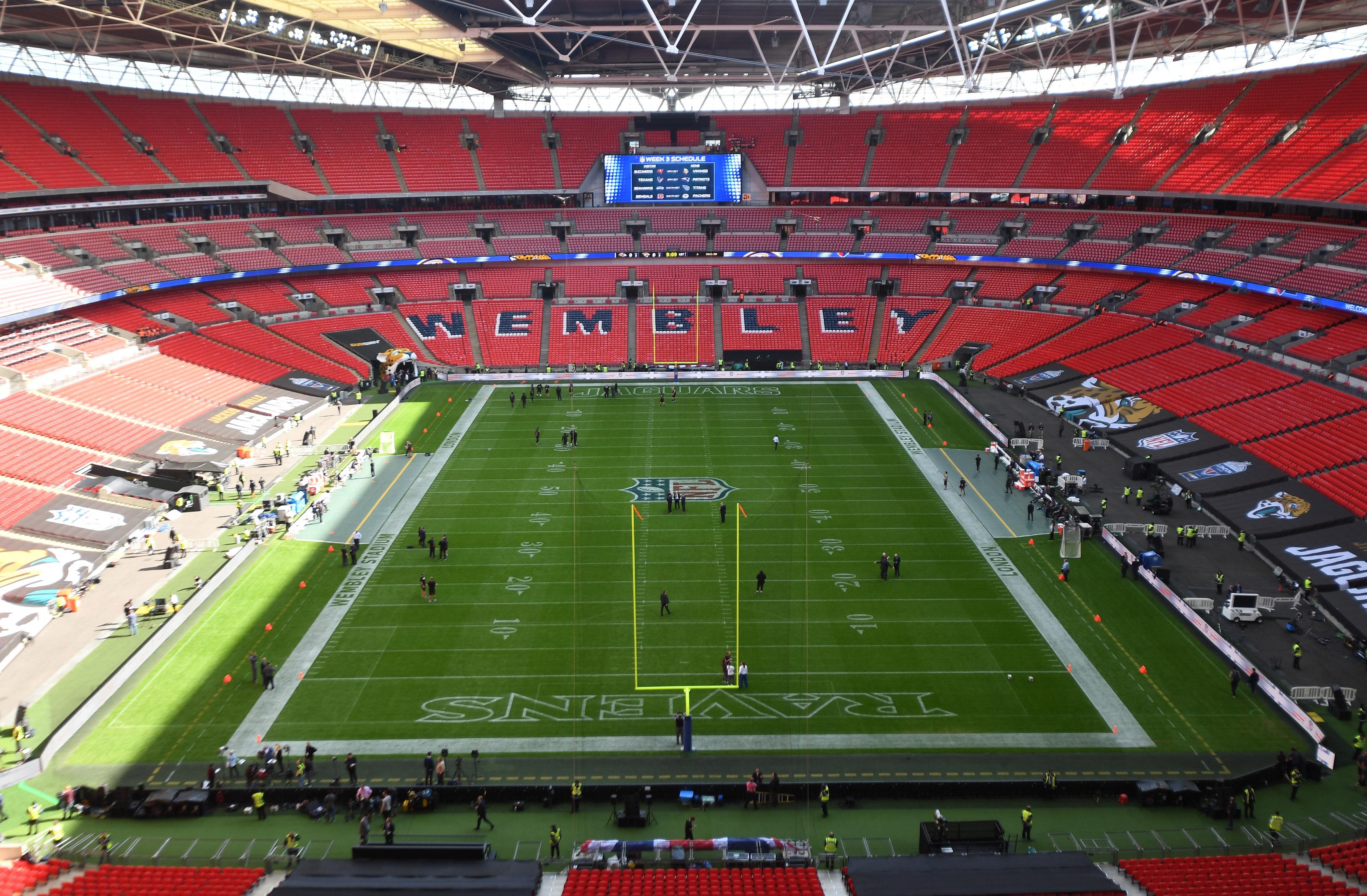 Fulham owner Shahid Khan is planning on moving his NFL franchise to Wembley