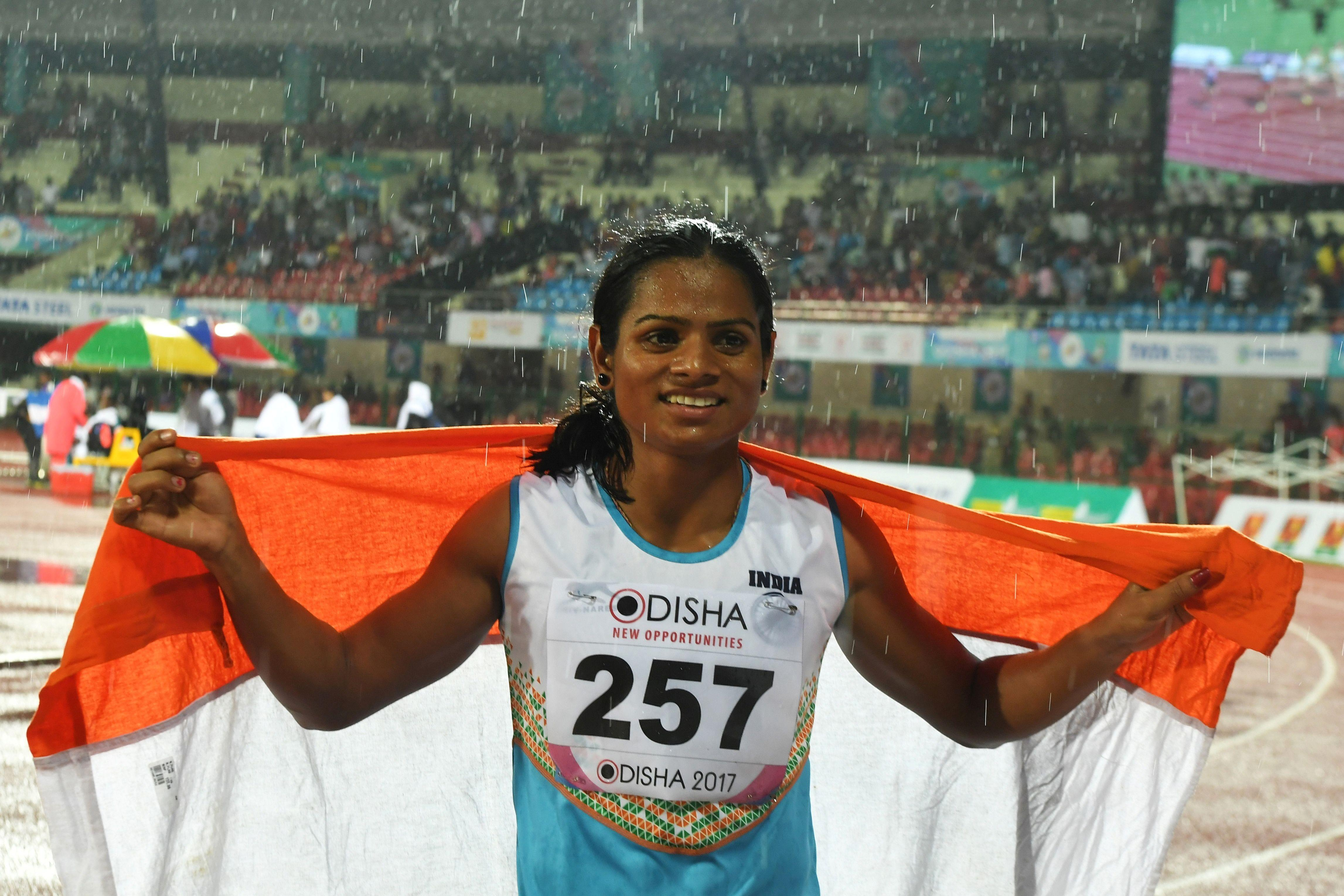 Indian sprinter Dutee Chand has come out in support of Caster Semenya