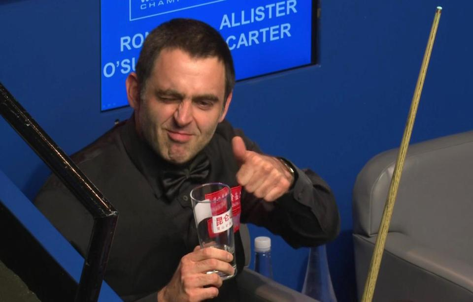 O'Sullivan played down the incident by declaring it as just 'handbags'