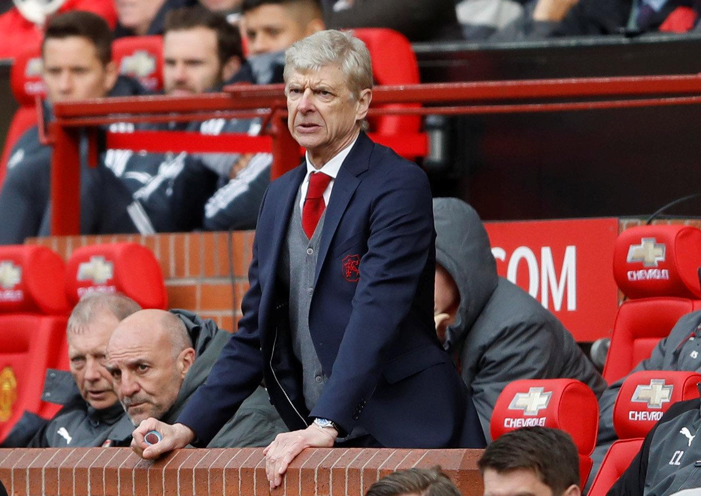 Arsene Wenger was unlucky to lose against his old enemy