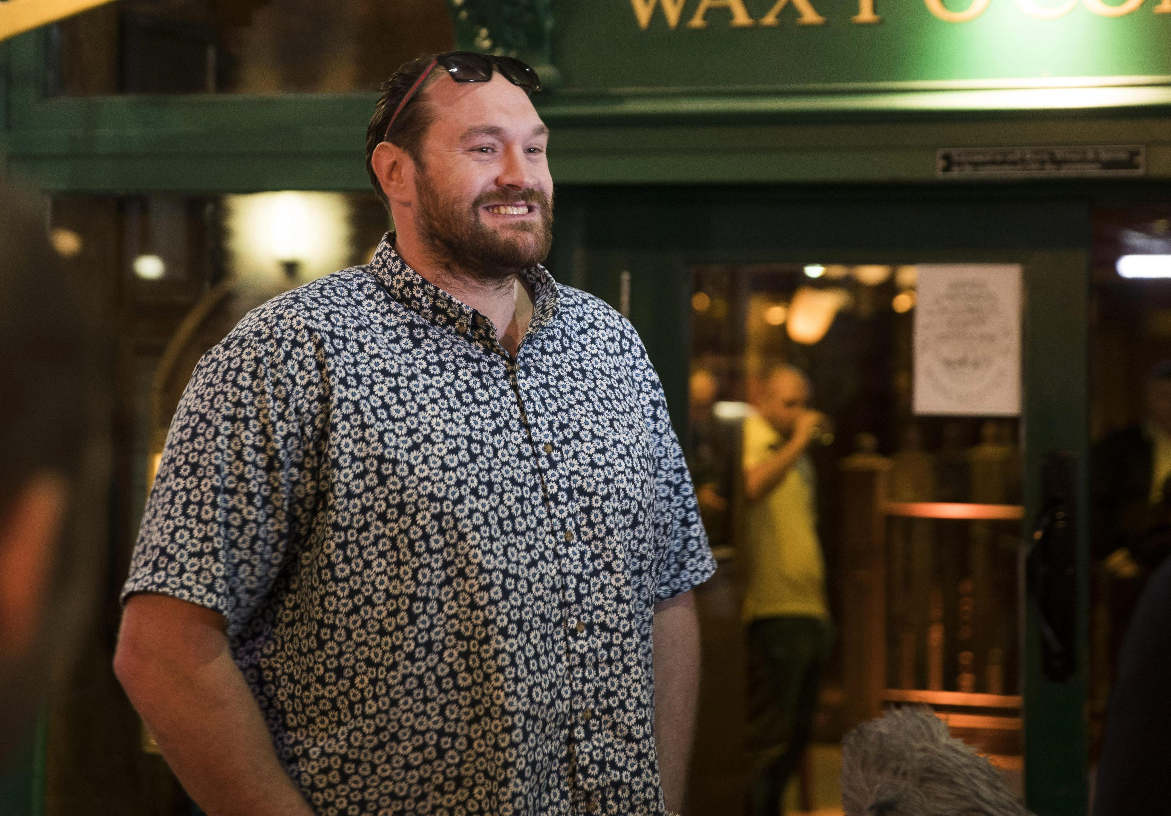 Fury piled on the pounds as he battled depression