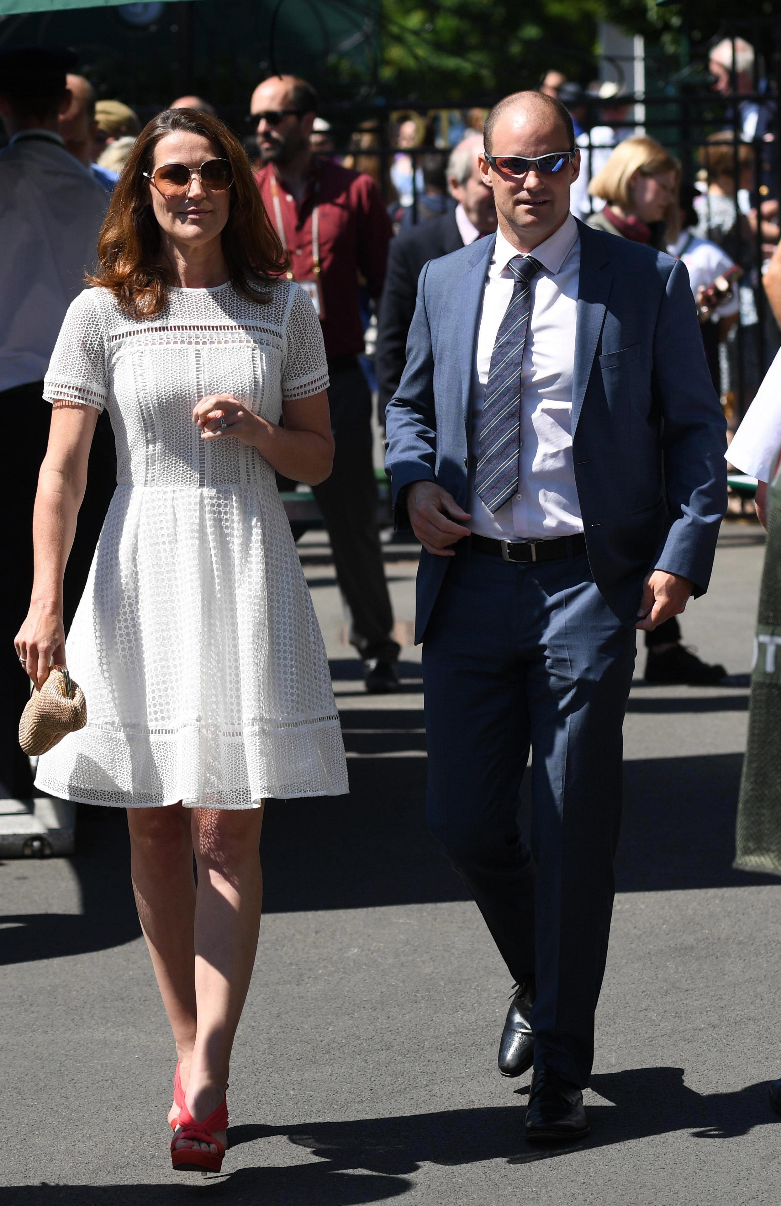 Andrew Strauss and wife Ruth have often been seen at Wimbledon