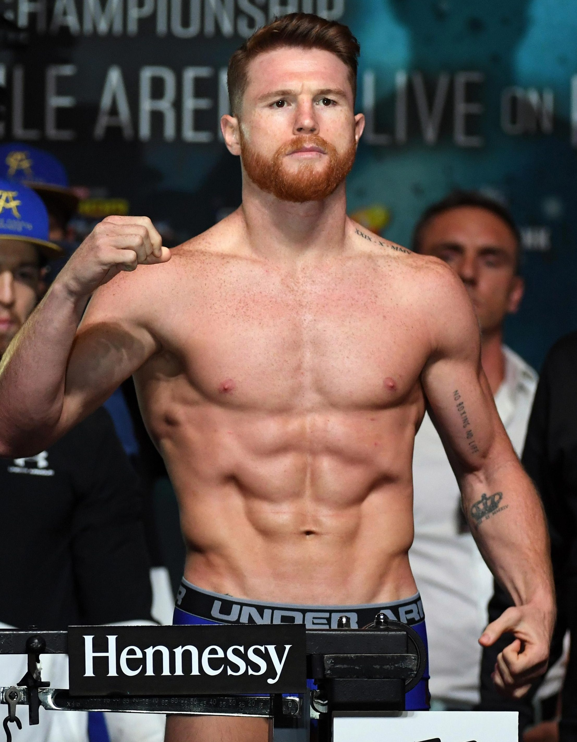 Saul 'Canelo' Alvarez claims the two failed drugs tests are as a result of eating contaminated meat