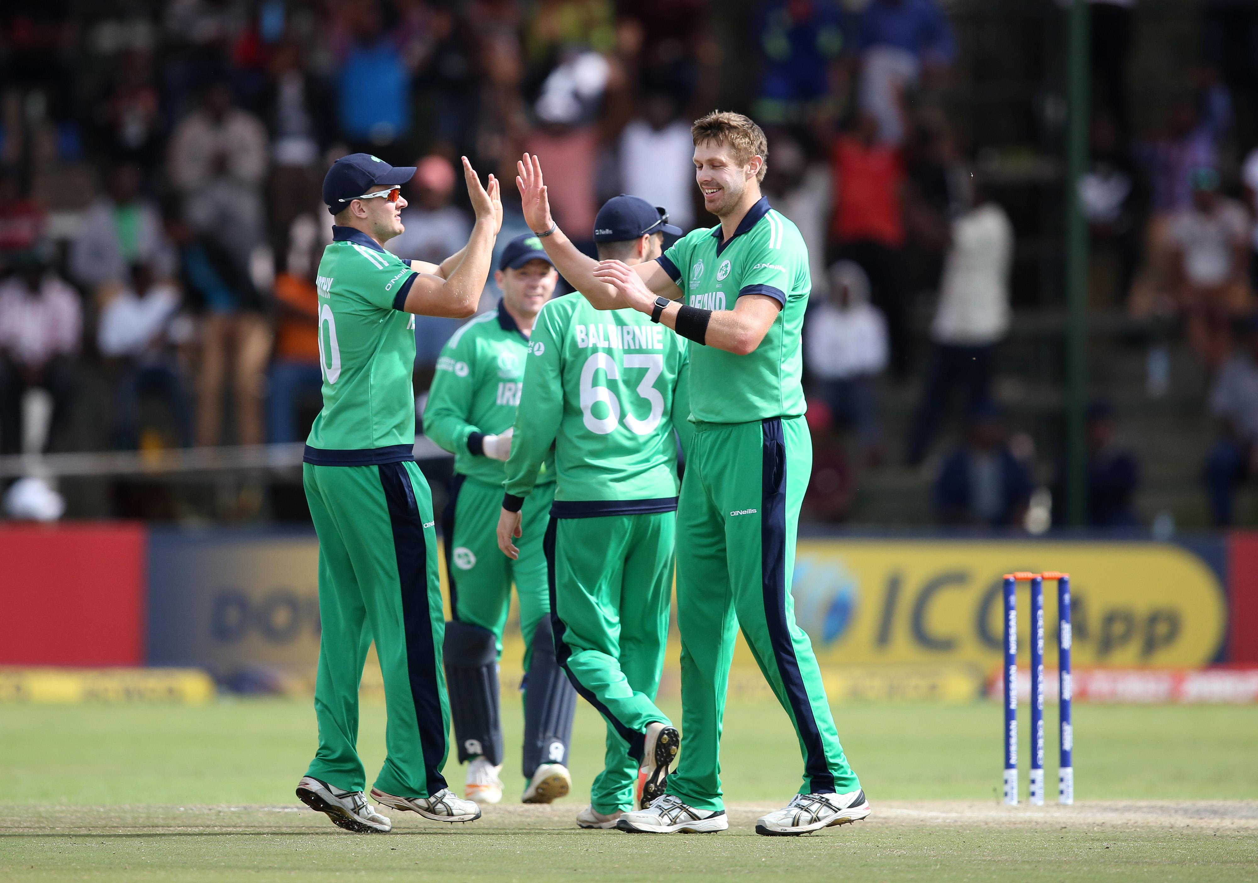 Ireland are playing their first ever Test match against Pakistan