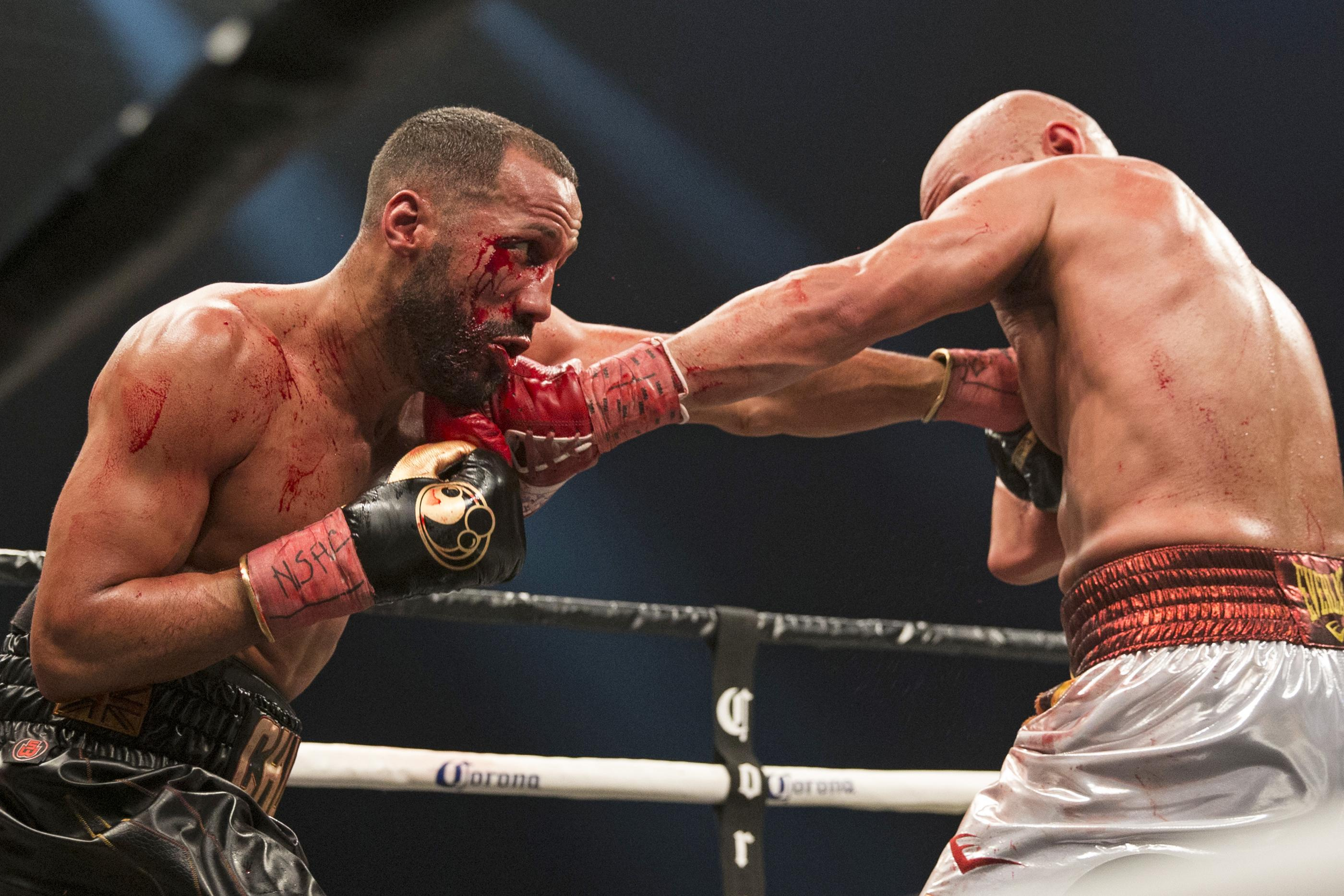 James DeGale reclaimed his IBF title after a shock loss to Caleb Truax