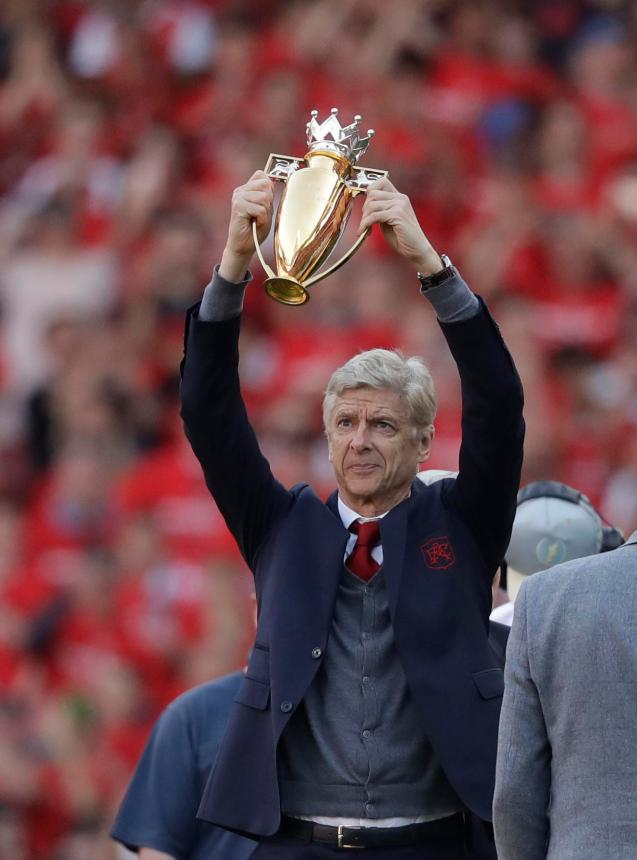 Image result for golden trophy wenger burnley
