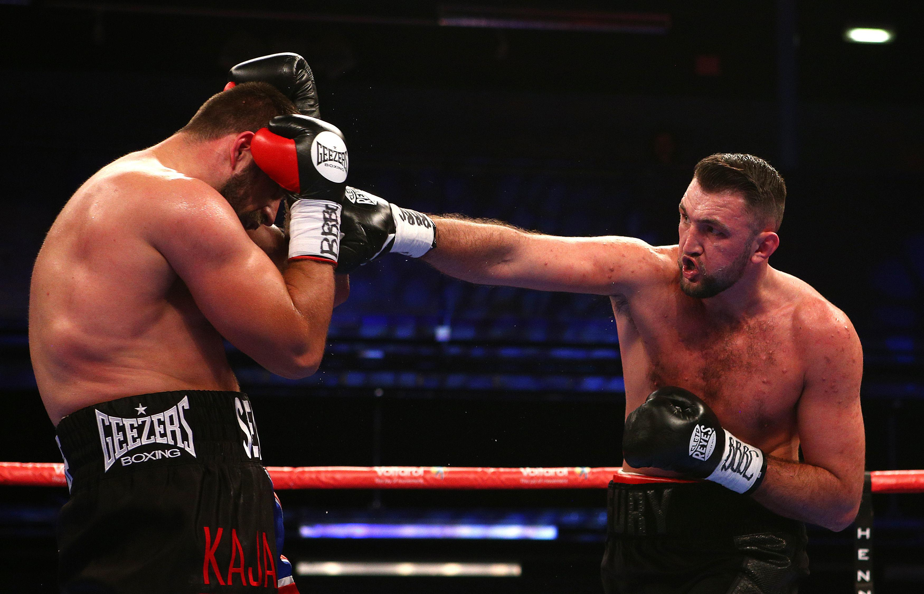 Former World Youth Champion Hughie Fury ended the contest in sizzling style