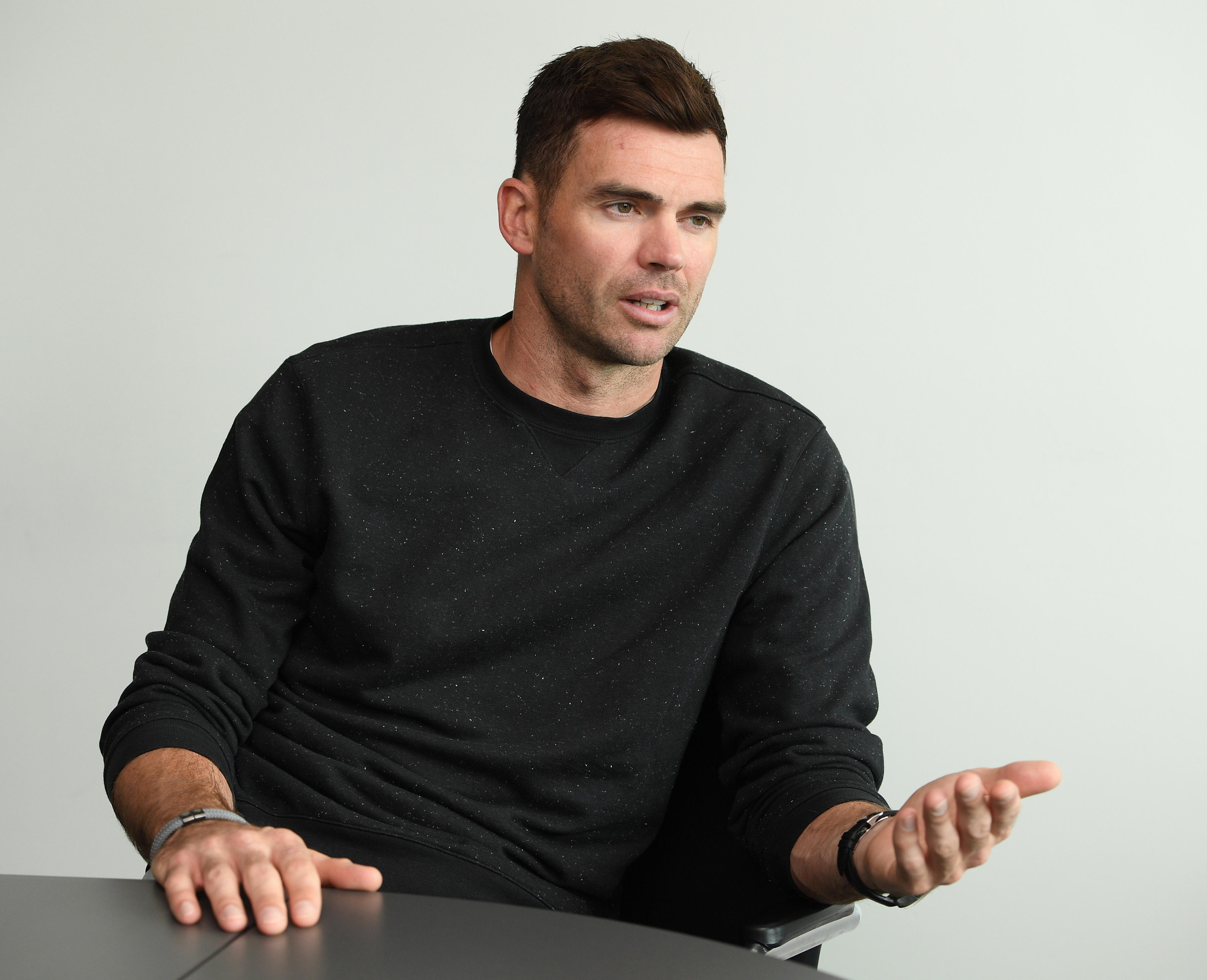 Jimmy Anderson insists his mid-life crisis is over
