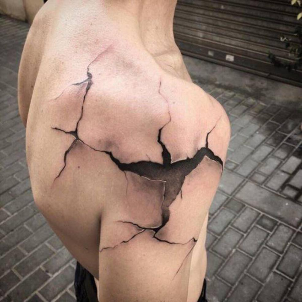 These Hyper Realistic 3d Tattoos Will Make You Do A Double Take