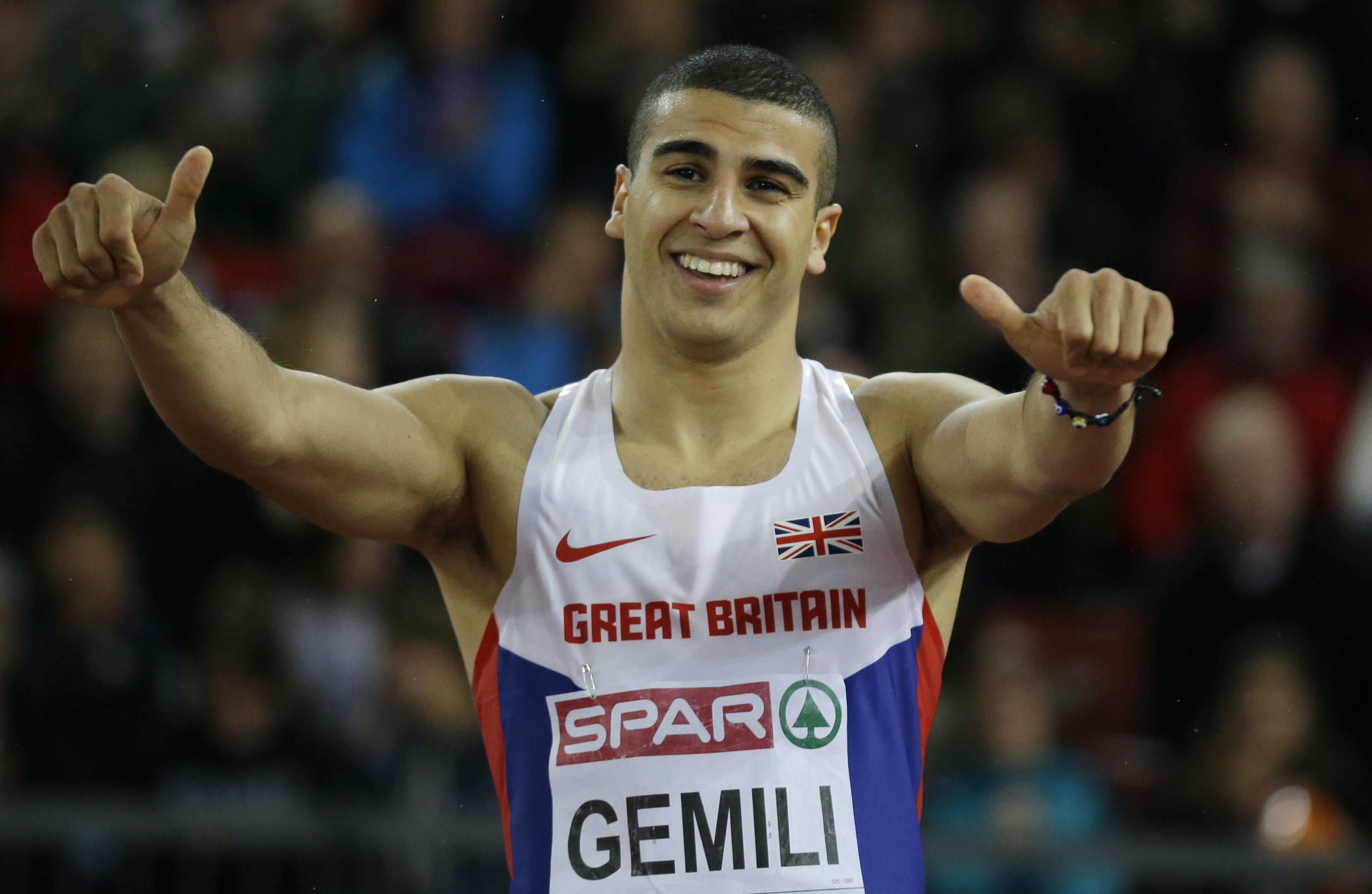 Adam Gemili has been one of Britain's top sprinters in recent years
