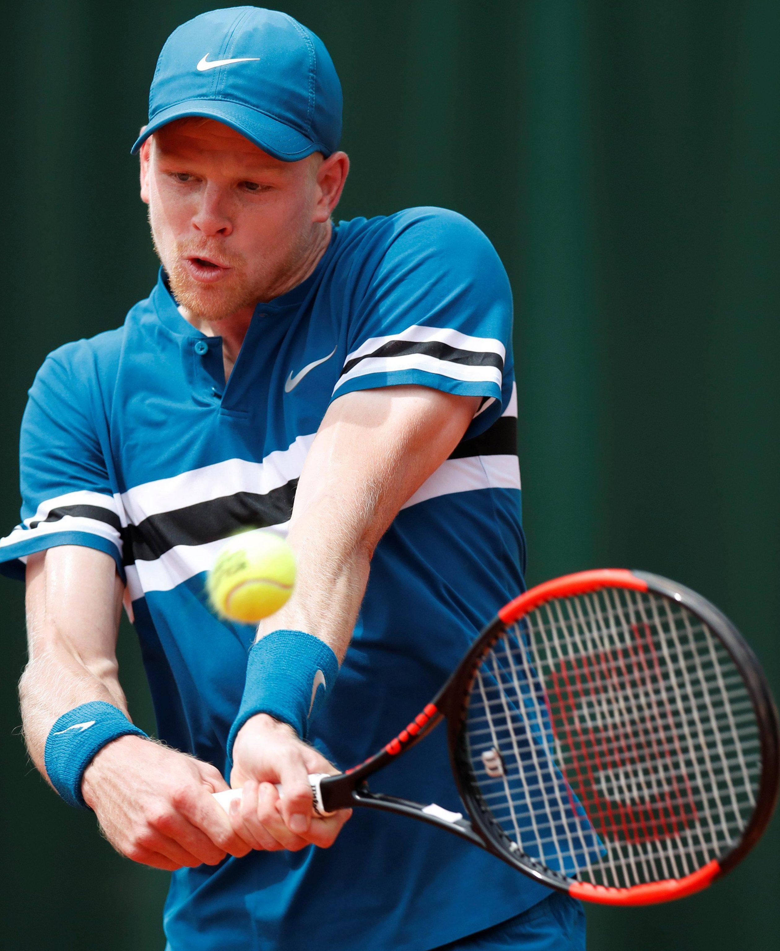 Kyle Edmund is targeting the top-10 tennis rankings