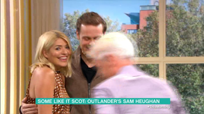 Holly Willoughby was smitten with Sam Heughan