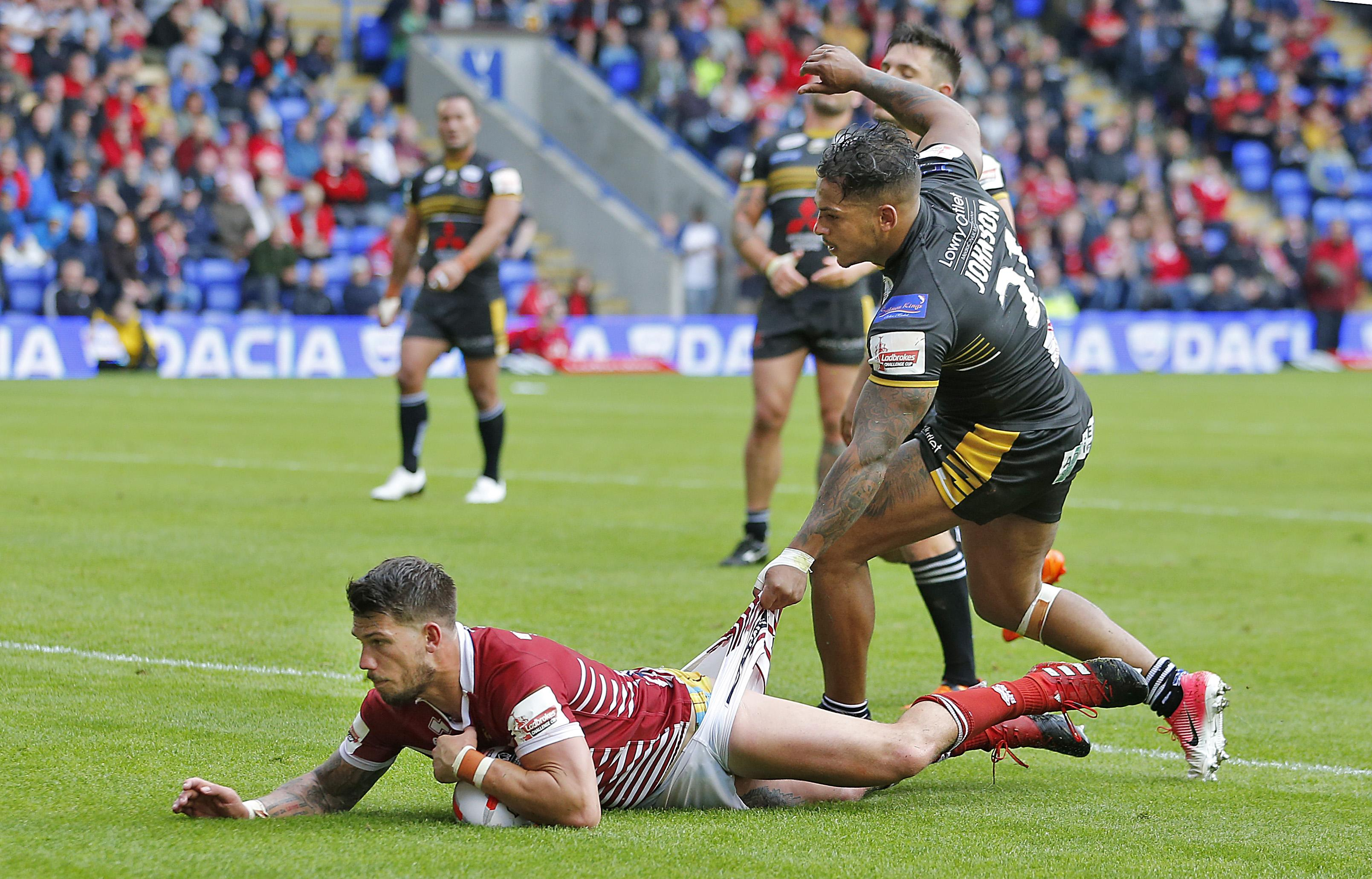 Gildart had interest from the NRL and St Helens