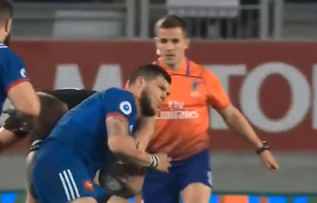 Replays showed that English referee Luke Pearce had a perfect view of the incident