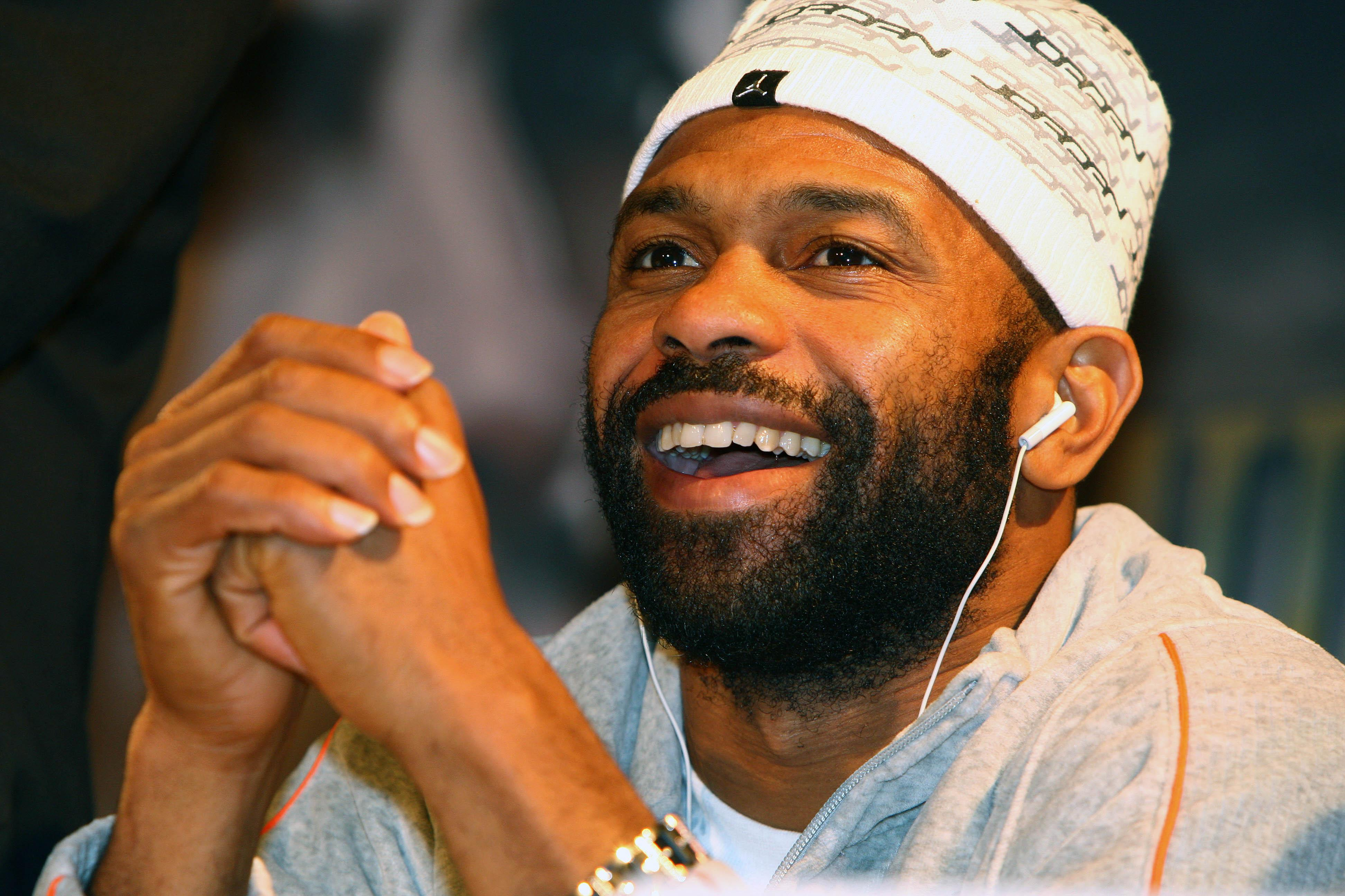 American Roy Jones Jr drove from Newcastle to Manchester to see Tyson Fury