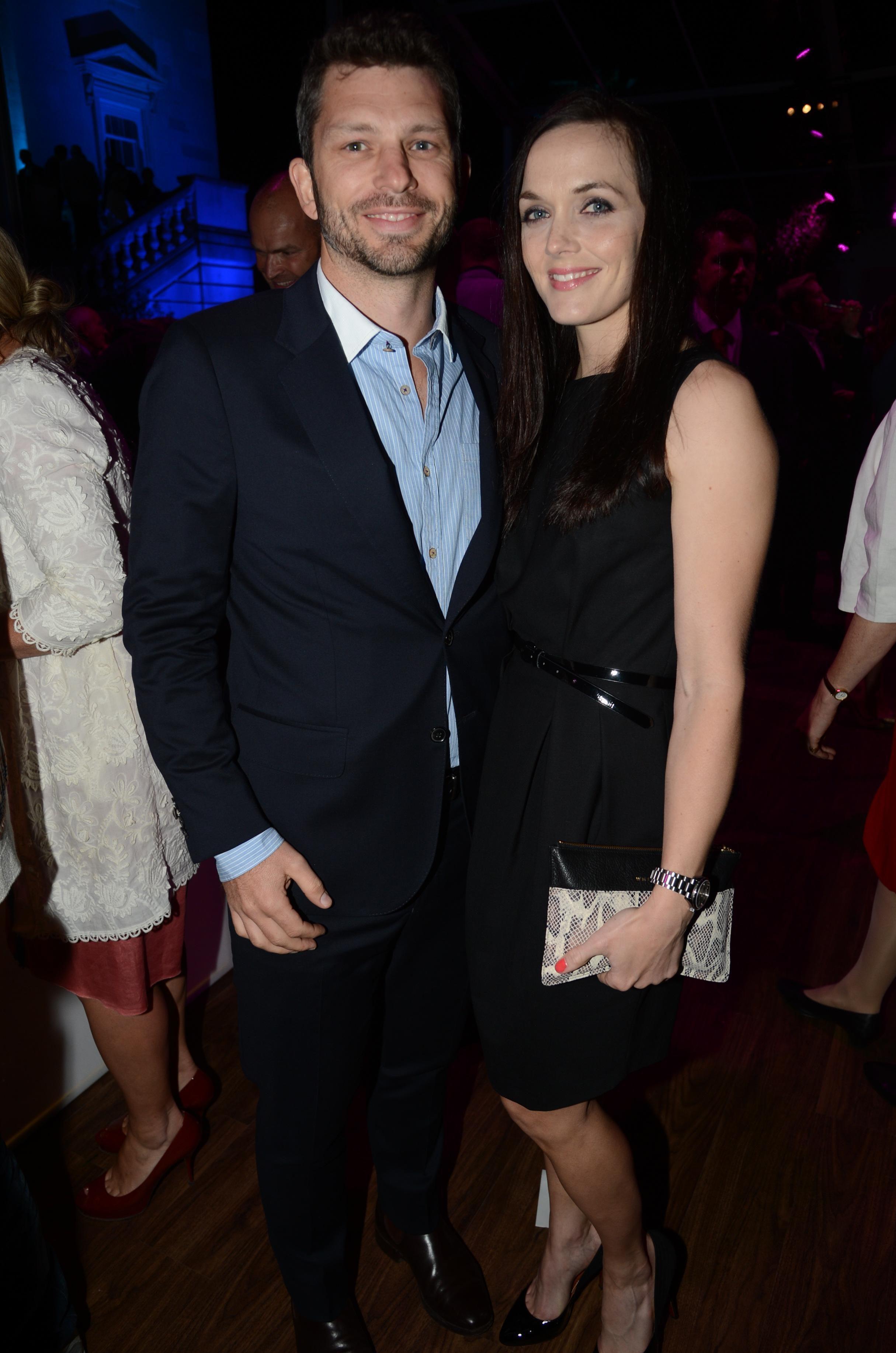 Victoria with her husband Scott Gardner