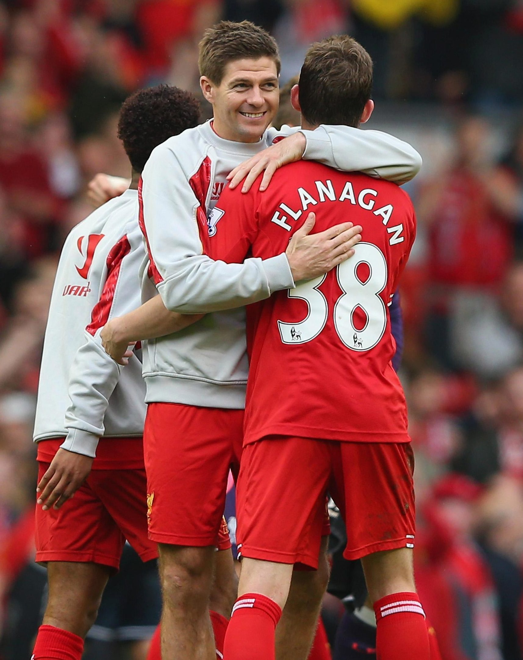 Steven Gerrard and Jon Flanagan will now be reunited north of the border